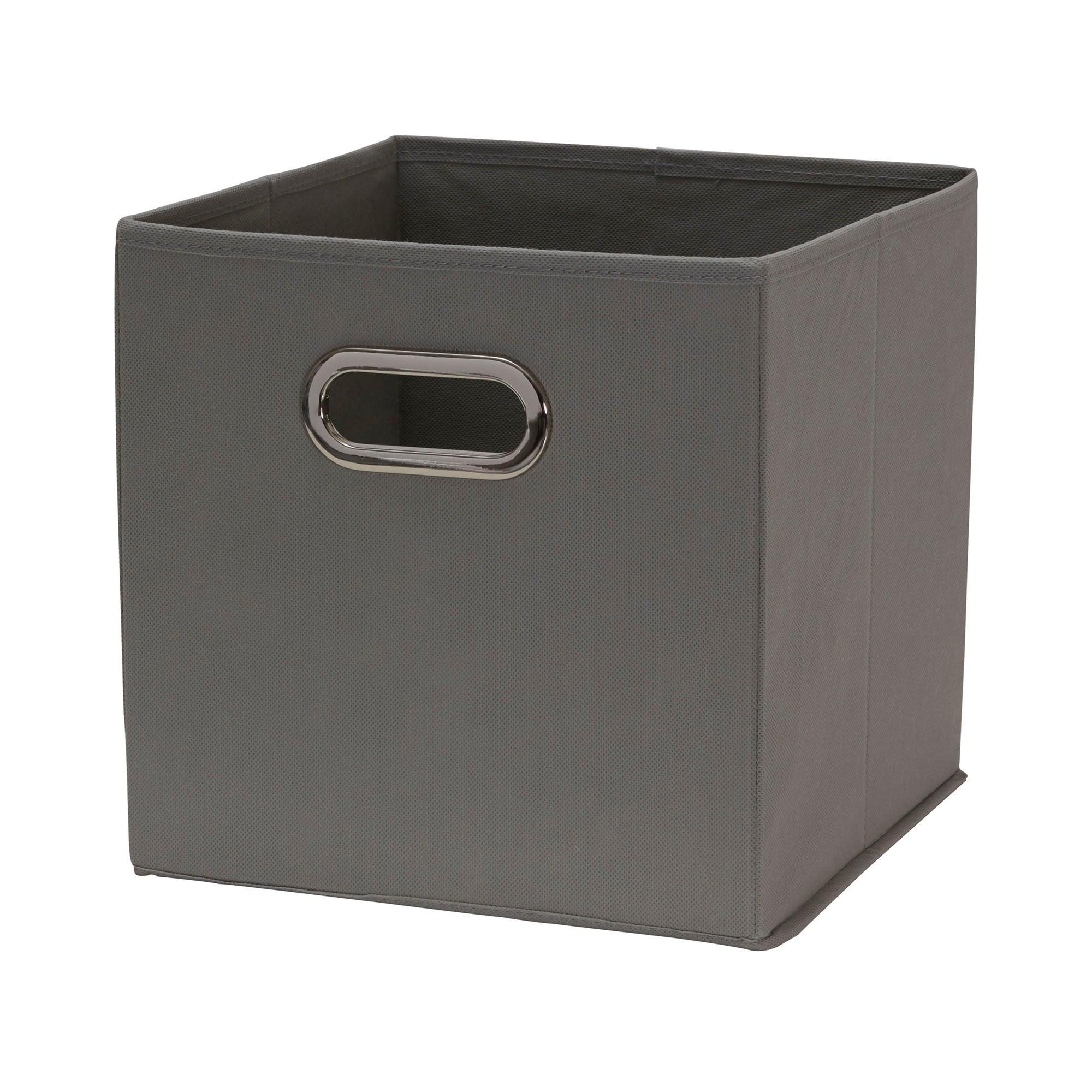 Beau Shop Househole Essentials Foldable Fabric Storage Cubes   Set Of 6   Teafog    Free Shipping On Orders Over $45   Overstock.com   17619032