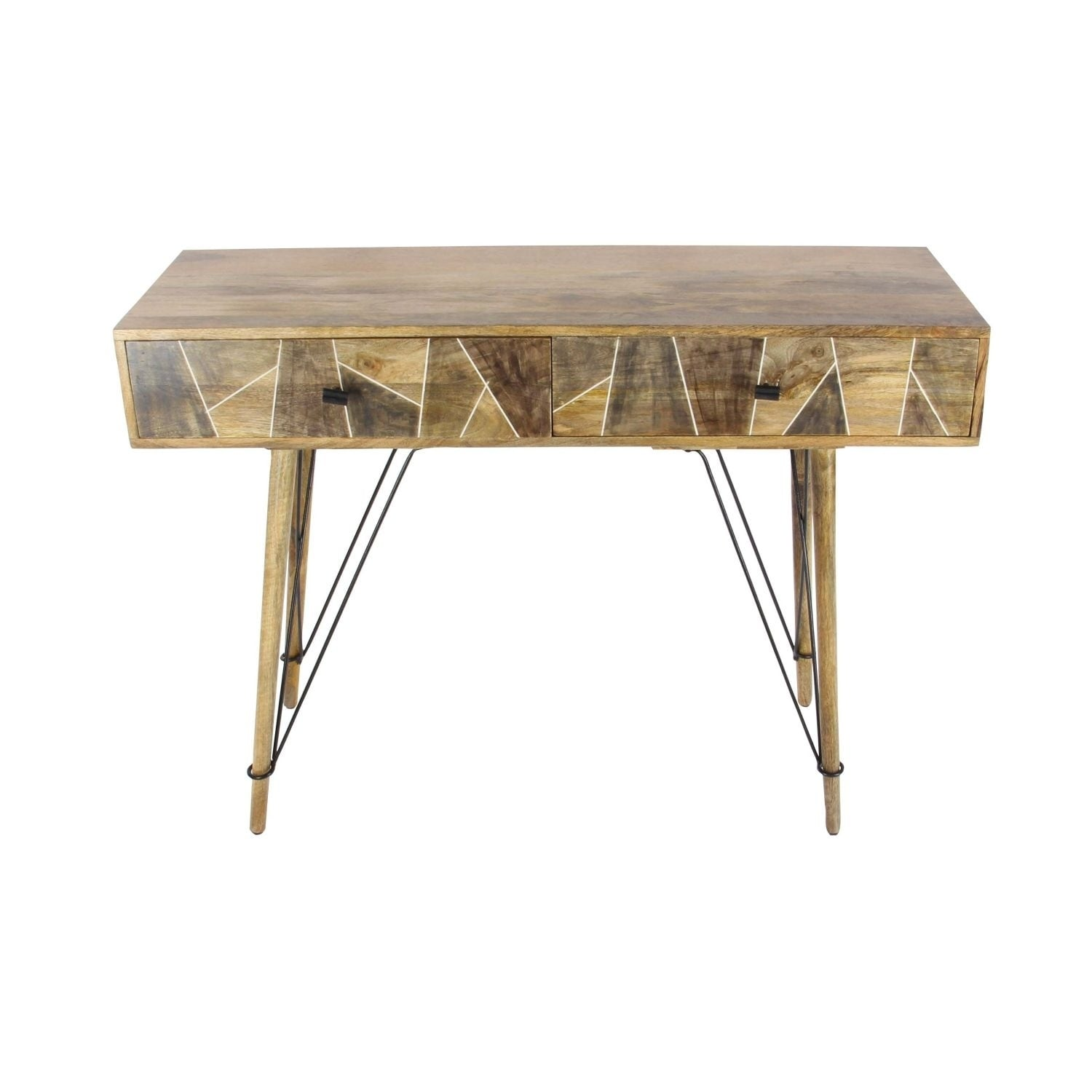 Studio 350 Wood Metal Console Table 47 Inches Wide 34 High On Free Shipping Today 17629640