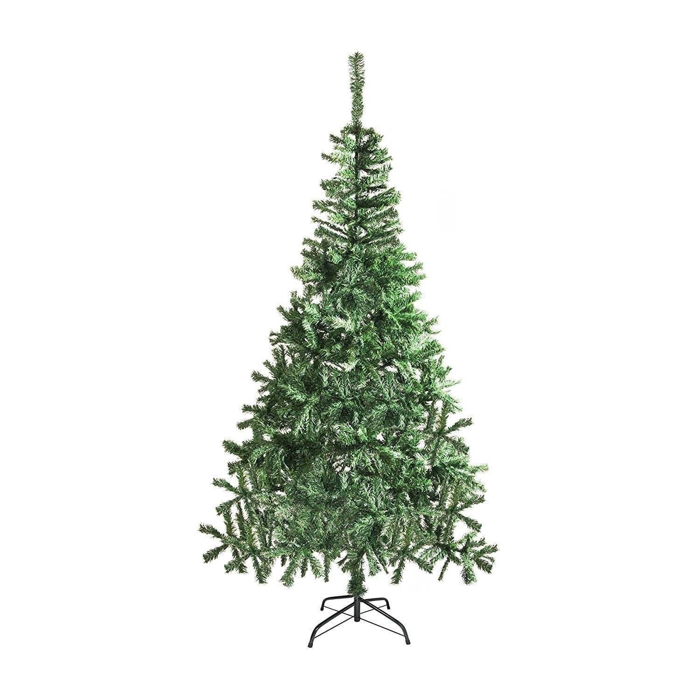 ALEKO Artificial Indoor 6 Feet Christmas Holiday Pine Tree - Free ...
