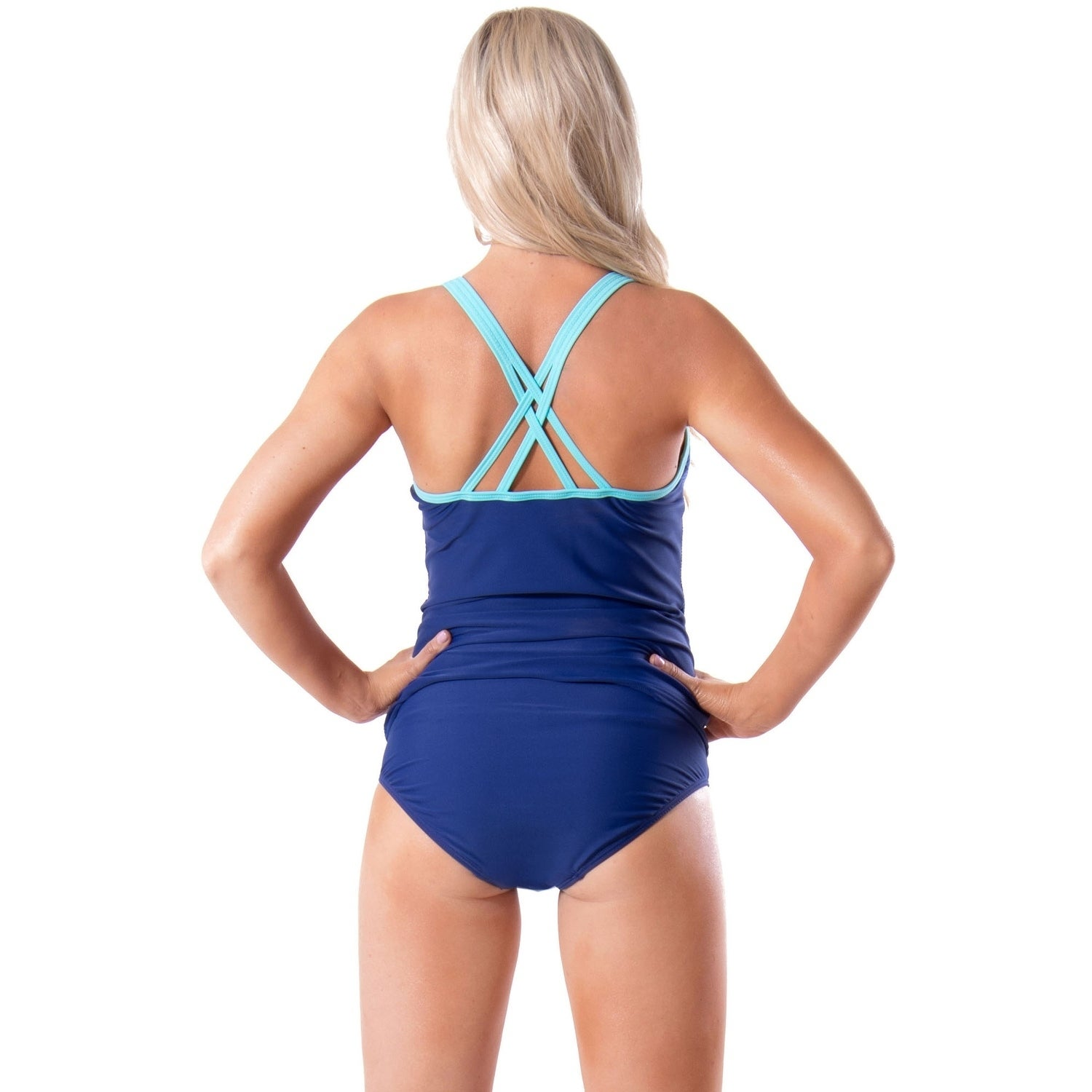 04b205397efda Shop Bawdy Women's Active Sport Tankini Set - On Sale - Ships To Canada - -  17638770