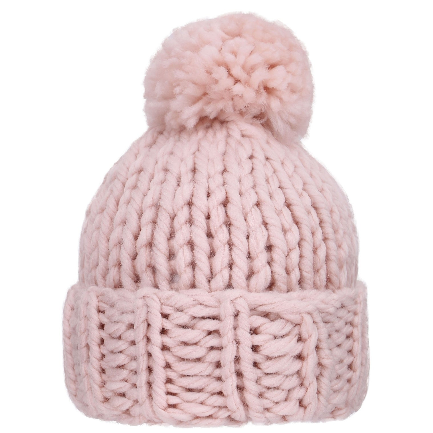 a05b1fe32 Arctic Paw Women's Super Soft Chunky Cable Knit Pompom Beanie