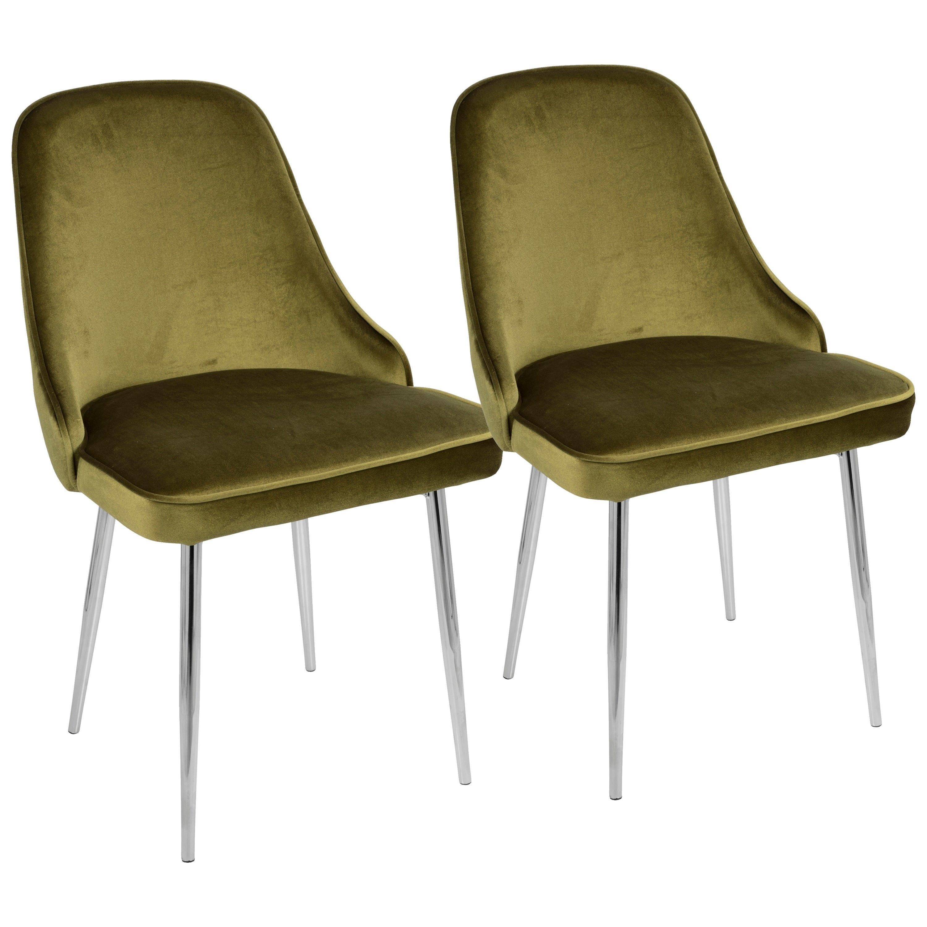 Incroyable Shop LumiSource Marcel Contemporary Dining Chair (Set Of 2)   On Sale    Free Shipping Today   Overstock.com   17652284