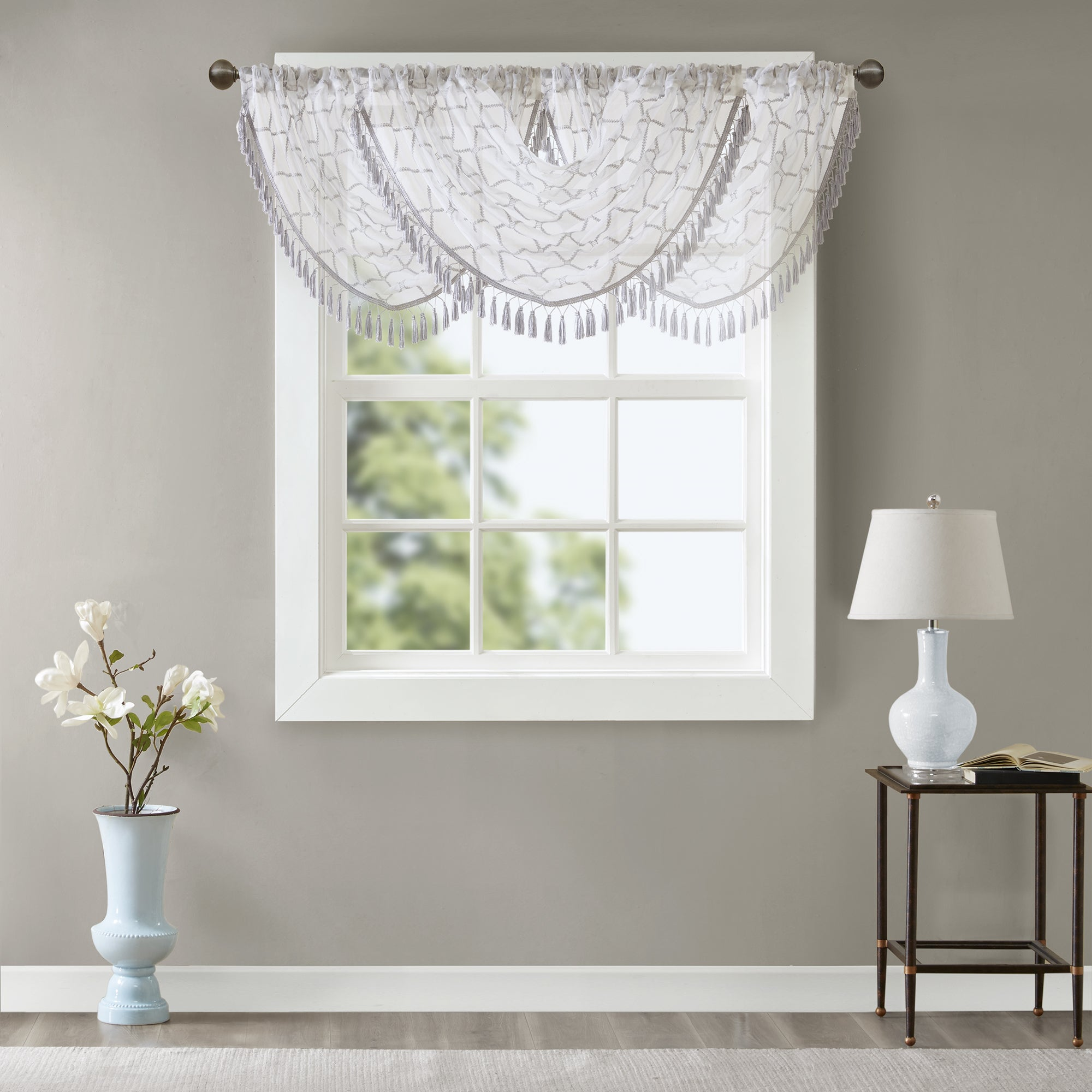 the decorations way how and waterfall design hang ideas valance to with idea scarf curtain