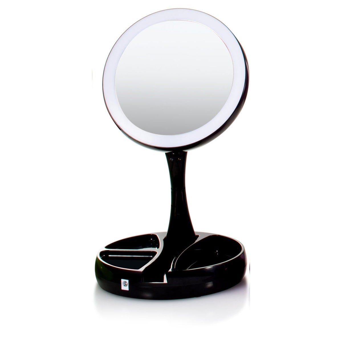 Shop my foldaway mirror lighted double sided vanity mirror as seen shop my foldaway mirror lighted double sided vanity mirror as seen on tv free shipping on orders over 45 overstock 17653951 aloadofball Gallery