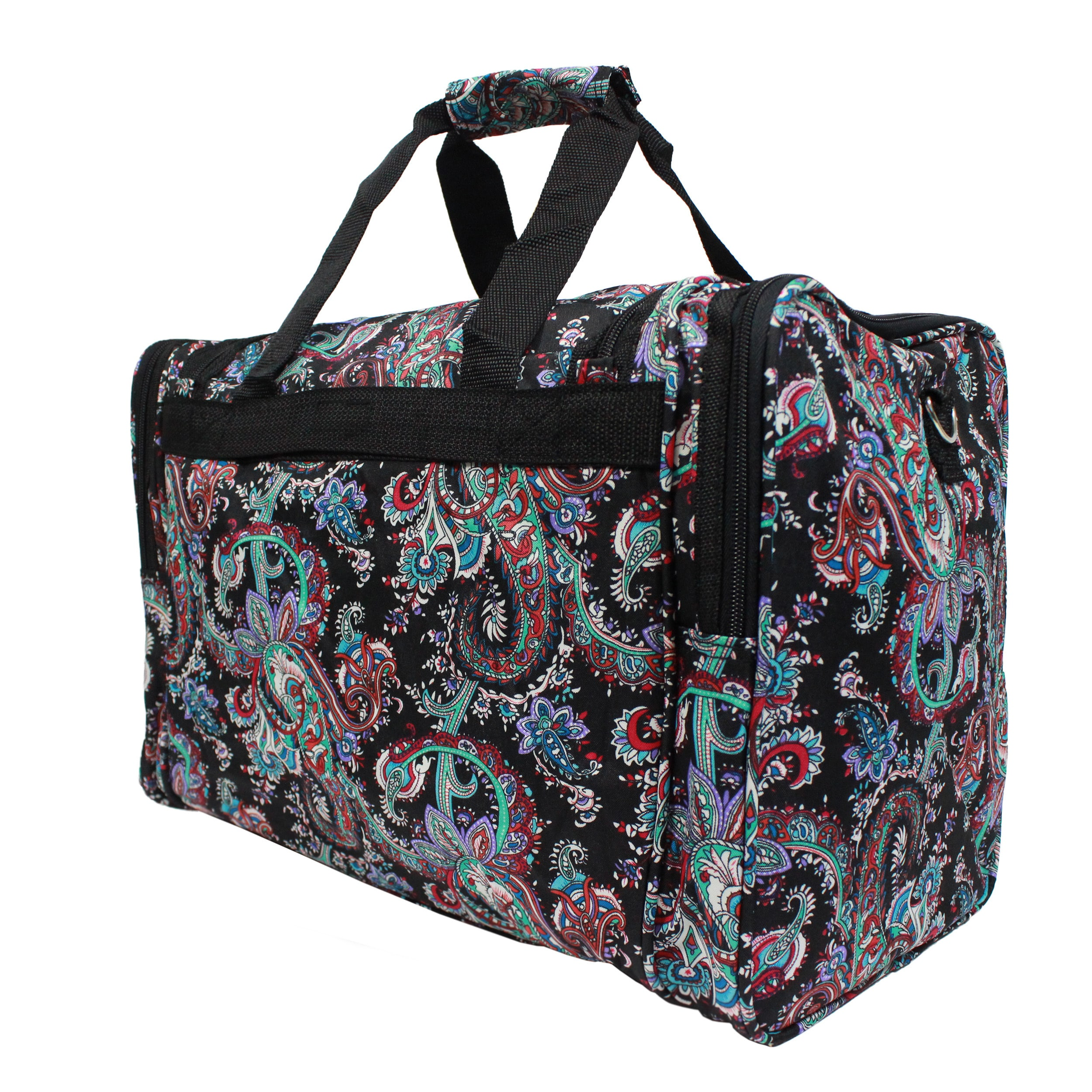 Shop World Traveler Paisley 4-piece Rolling Expandable Spinner Luggage Set  - Free Shipping Today - Overstock.com - 17654268 a50d4b42c8