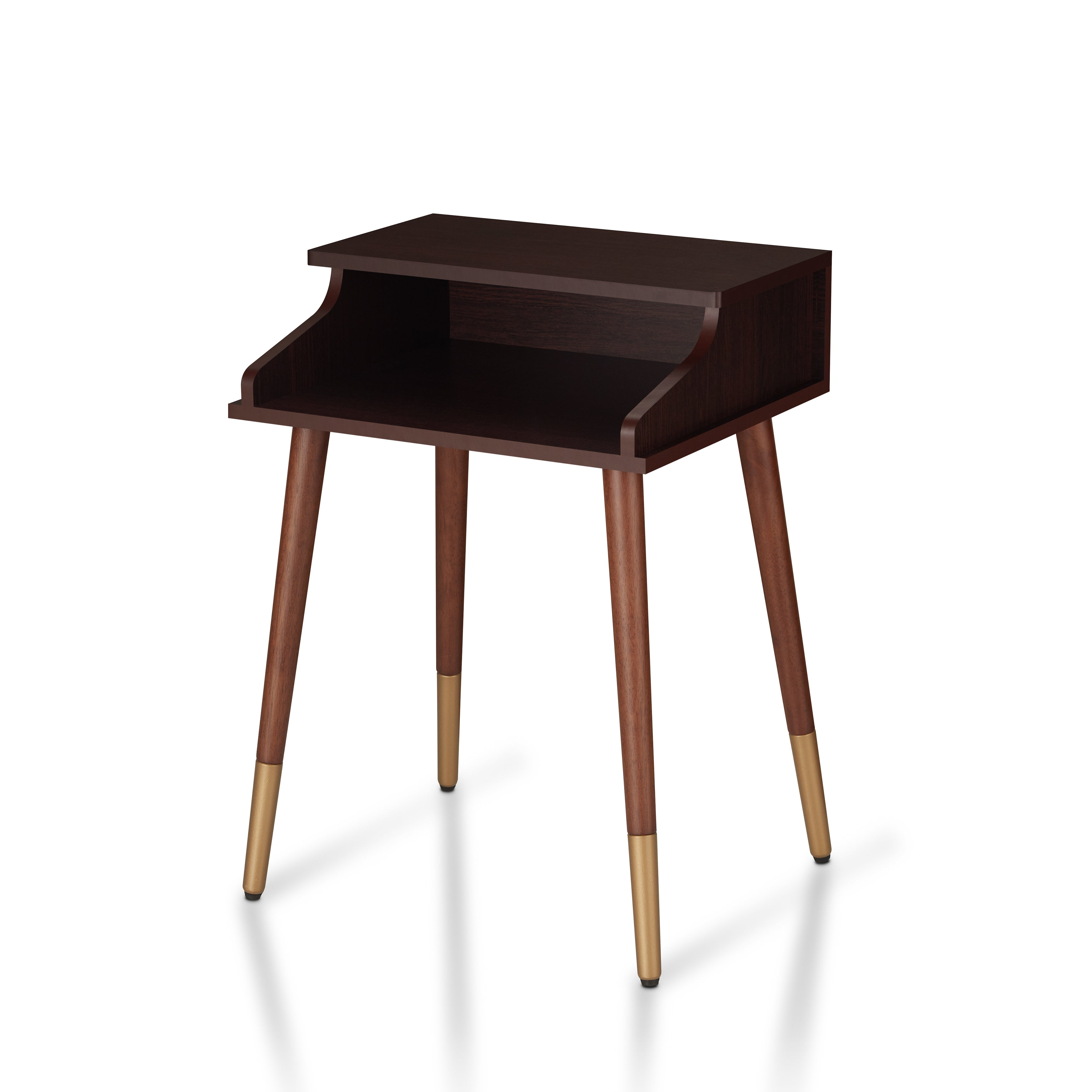 Furniture Of America Jeri Mid Century Modern Open End Table