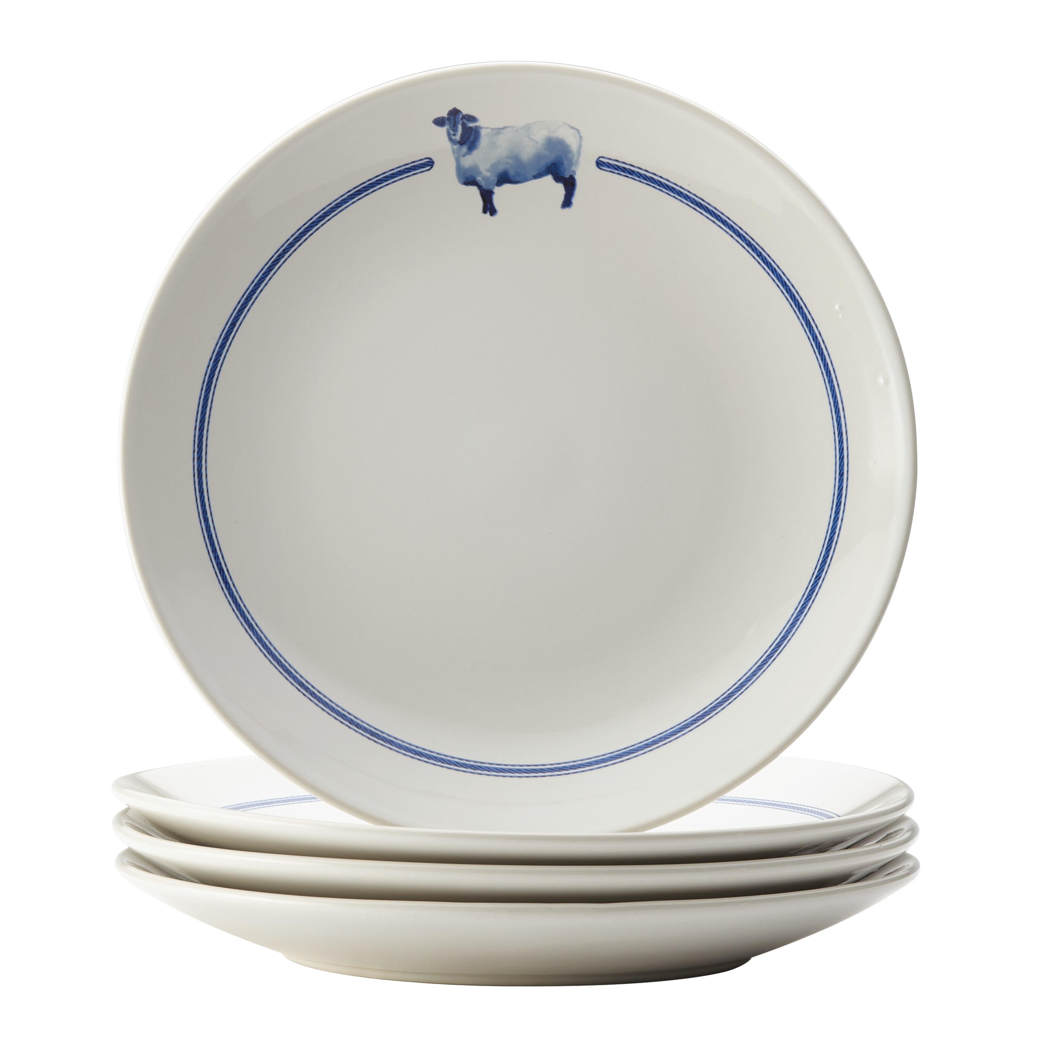Paula Deen Country Barnyard Stoneware Dinnerware 16-Piece Set - Free Shipping Today - Overstock - 23876598  sc 1 st  Overstock.com & Paula Deen Country Barnyard Stoneware Dinnerware 16-Piece Set - Free ...