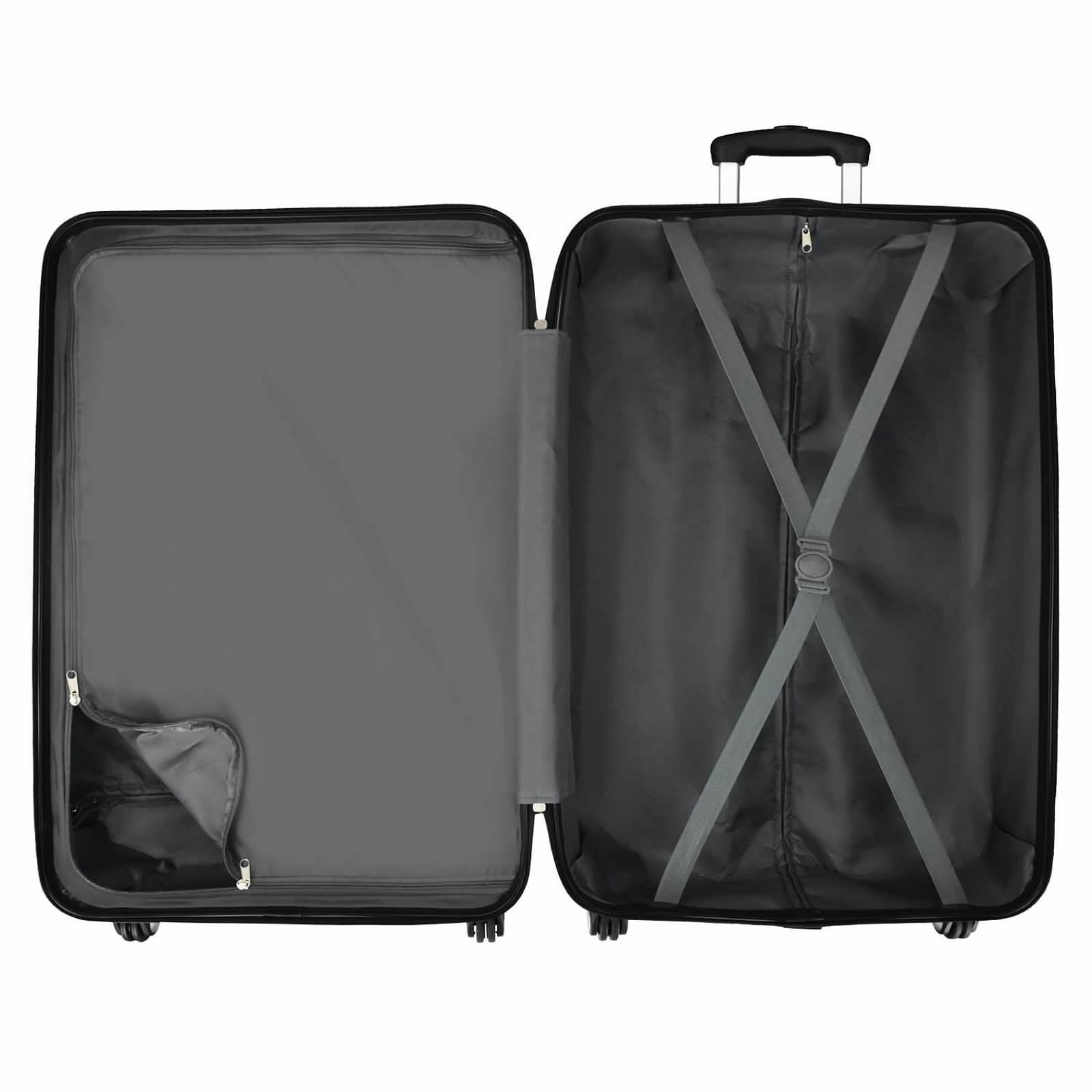 7e7d88e1ecf3 Elite Luggage Omni 3-Piece Hardside Spinner Luggage Set