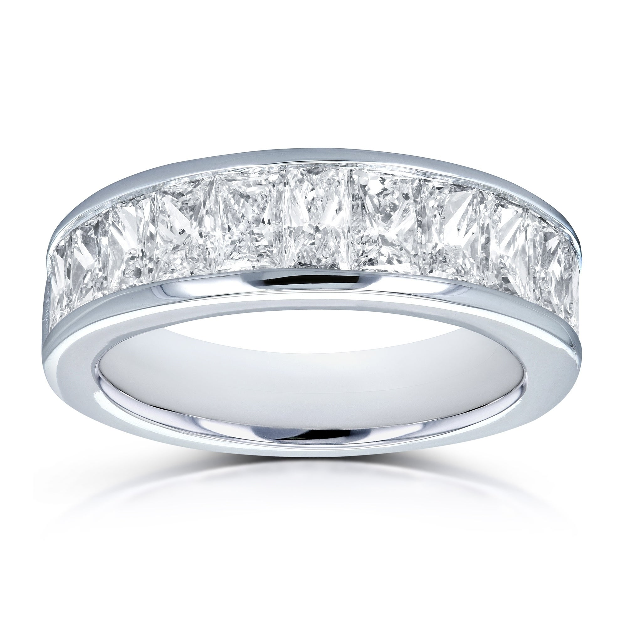 in bands diamond wedding platinum jewelry round carat jeweler band baguette bridge ring ben