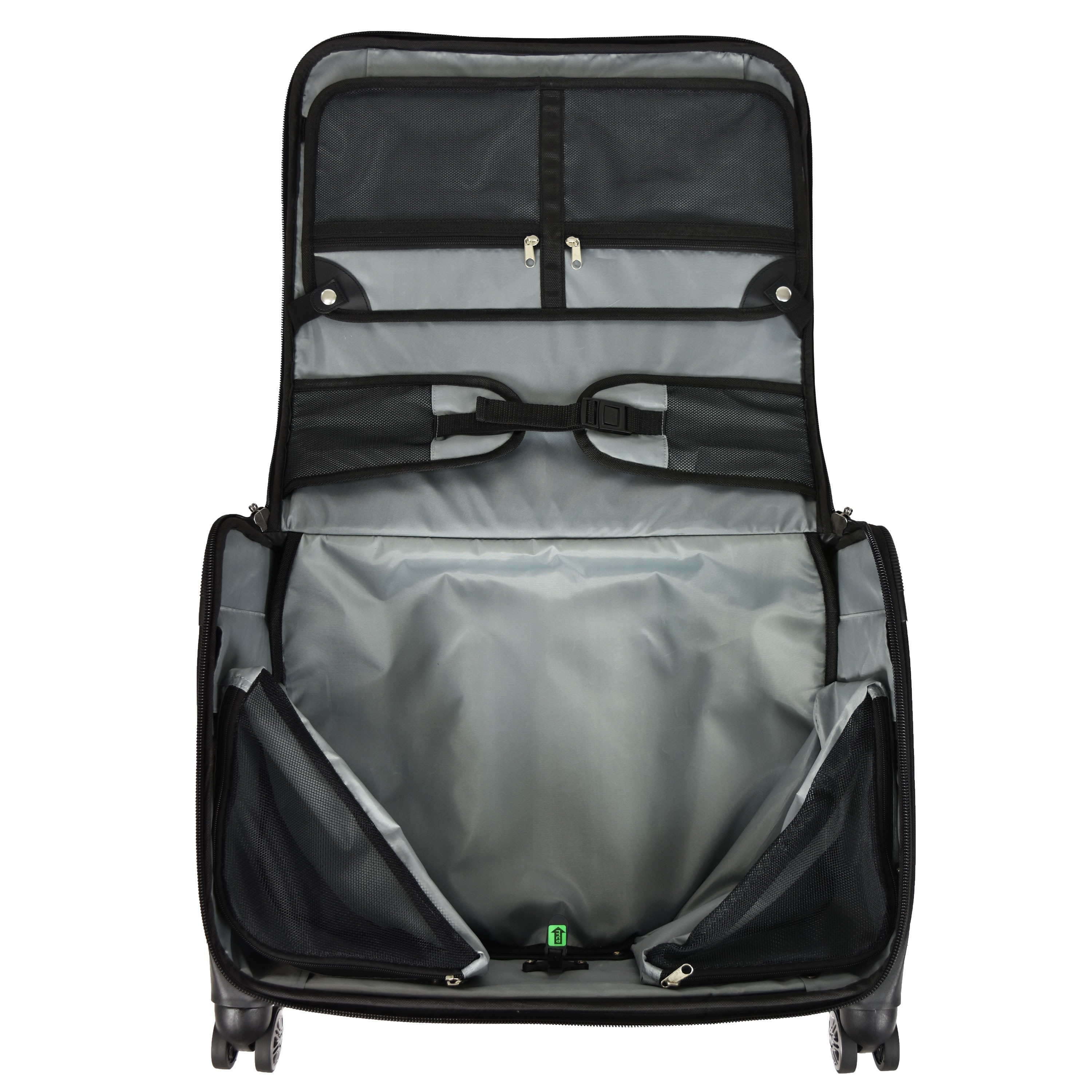 U S Traveler Freetown 21 Inch Carry On Spinner Garment Bag Free Shipping Today 17667258