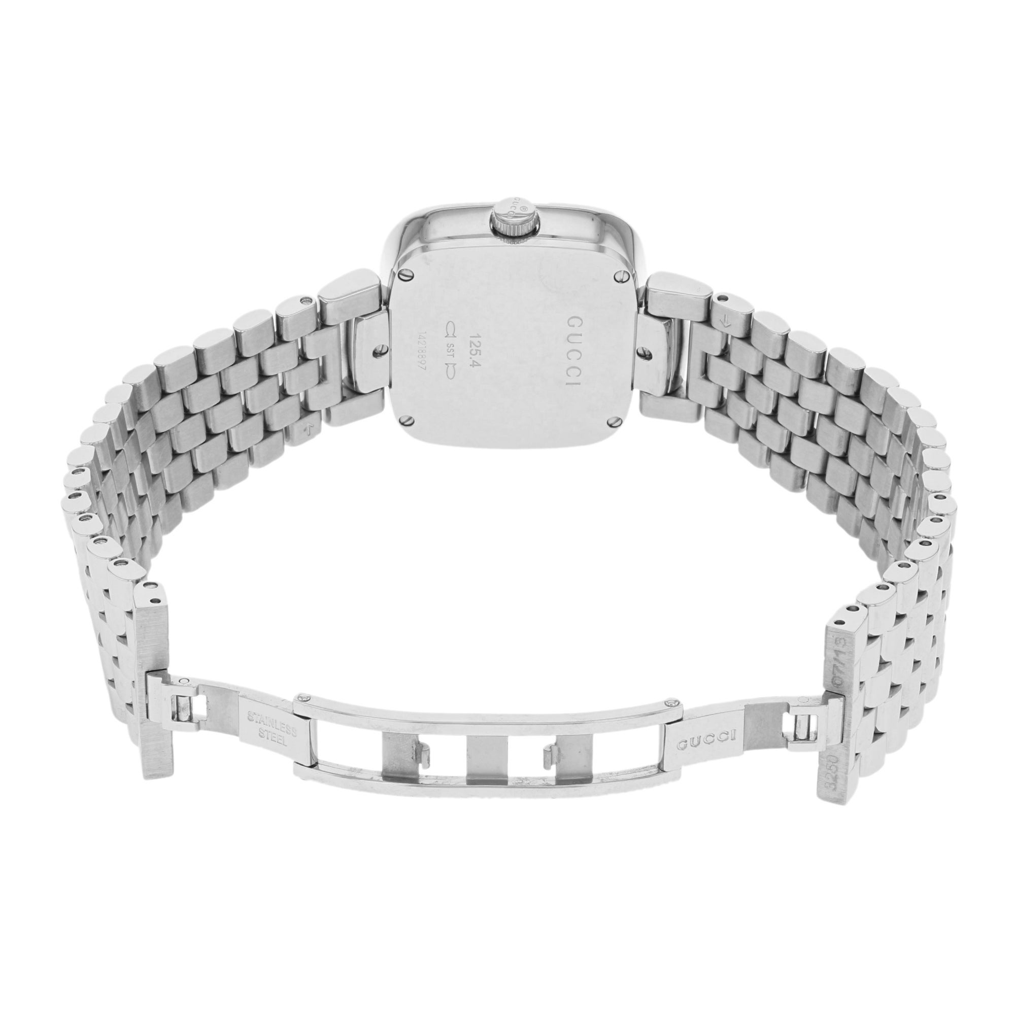 64432e1cd53 Shop Gucci G-Gucci Stainless Steel Quartz Ladies Watch - Free Shipping  Today - Overstock - 17669450