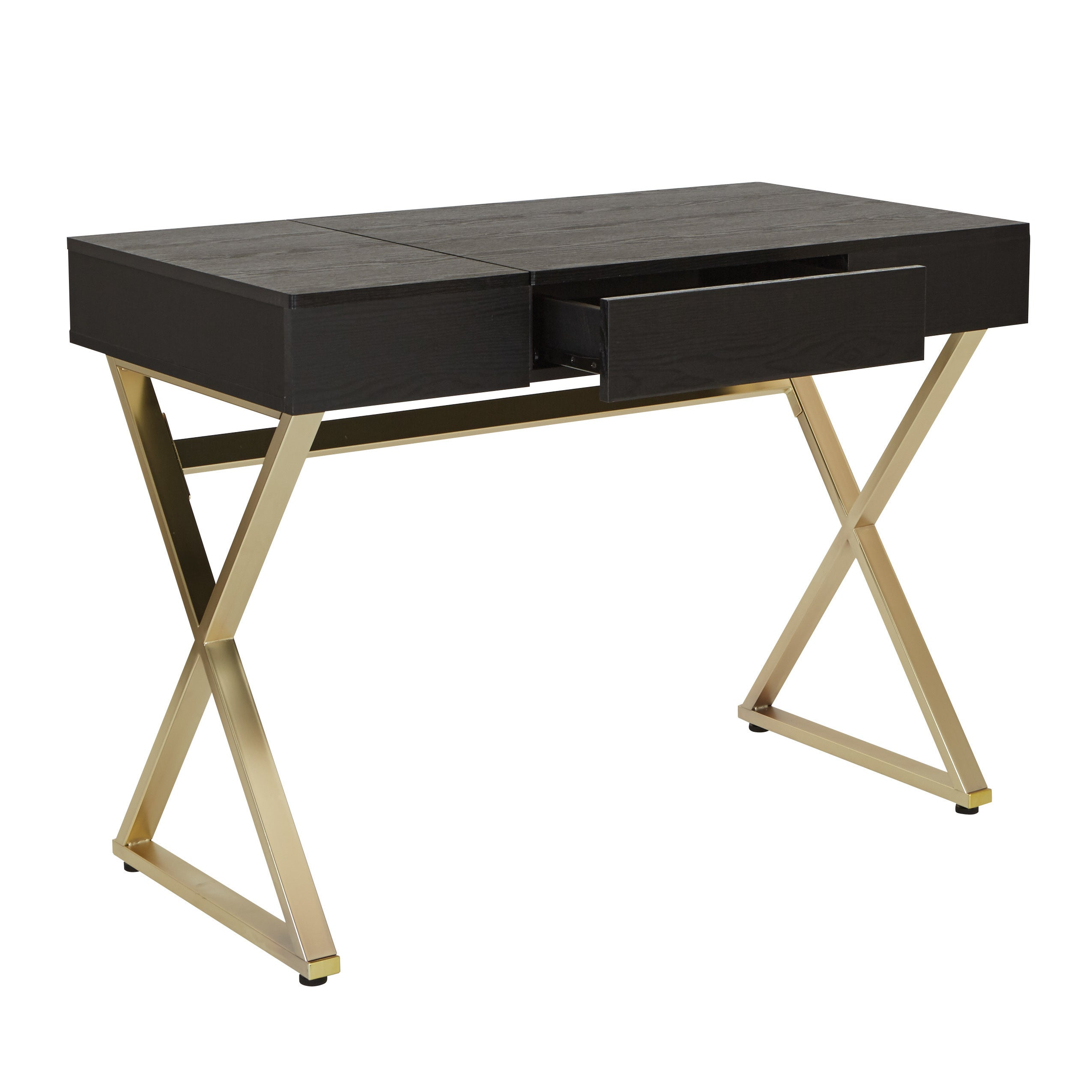 black and from tov gold coleman furniture majesty htm desk