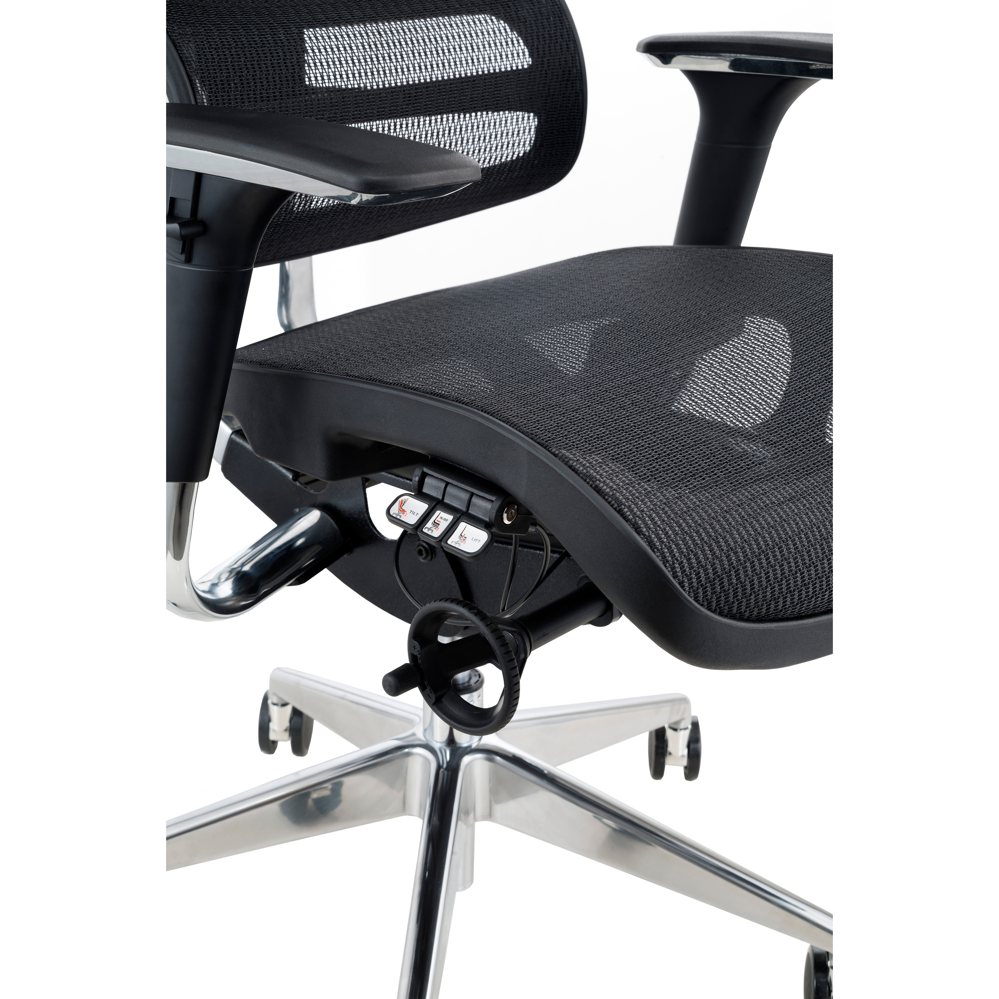 am shop sg office sale aircentric on airknit items chairs chair product category ergonomic photo black