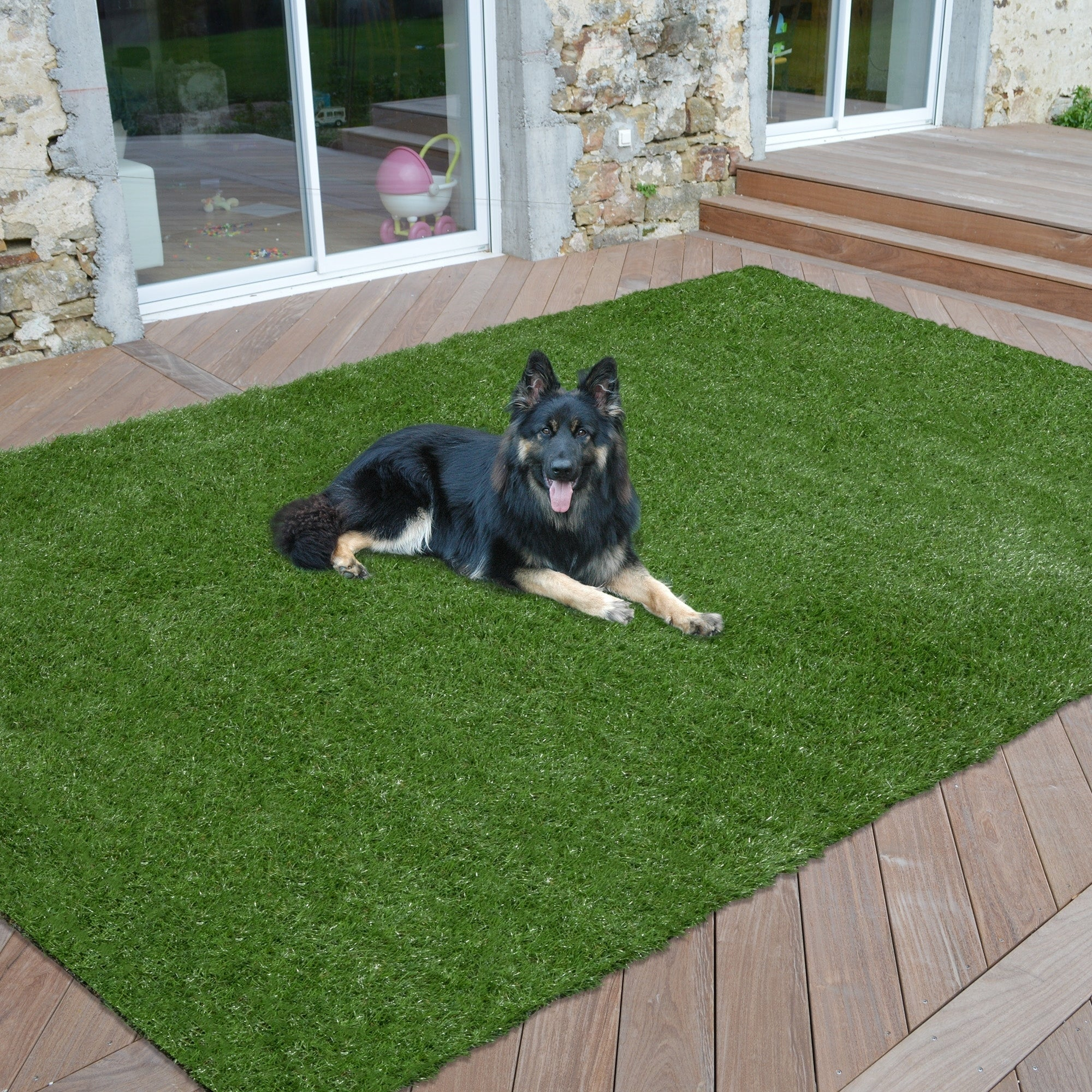 Artificial indoor grass Commercial Sweethome Meadowland Collection Indooroutdoor Artificial Grass Rug 4 7 2 5 Overstock Shop Sweethome Meadowland Collection Indooroutdoor Artificial Grass