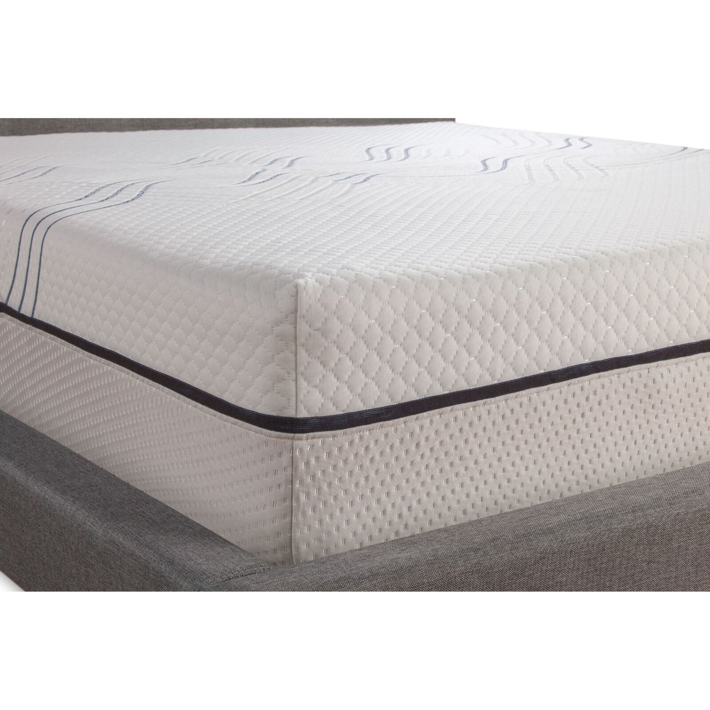 memory ventilated postureloft size cool mattress foam king pin queen inch gel primrose
