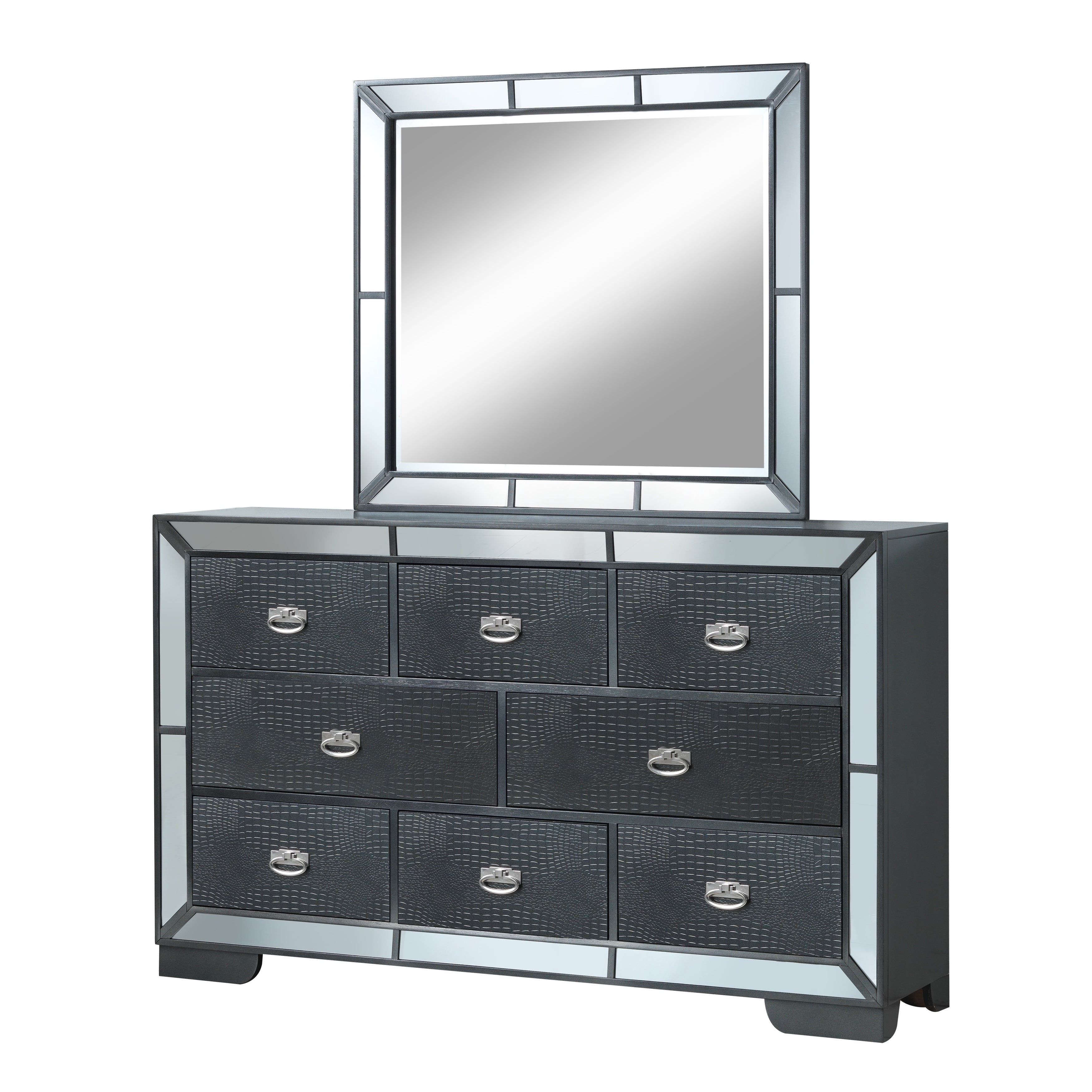 vanity cheap and fine dresser tall set top mirrored black flair chest mirror with