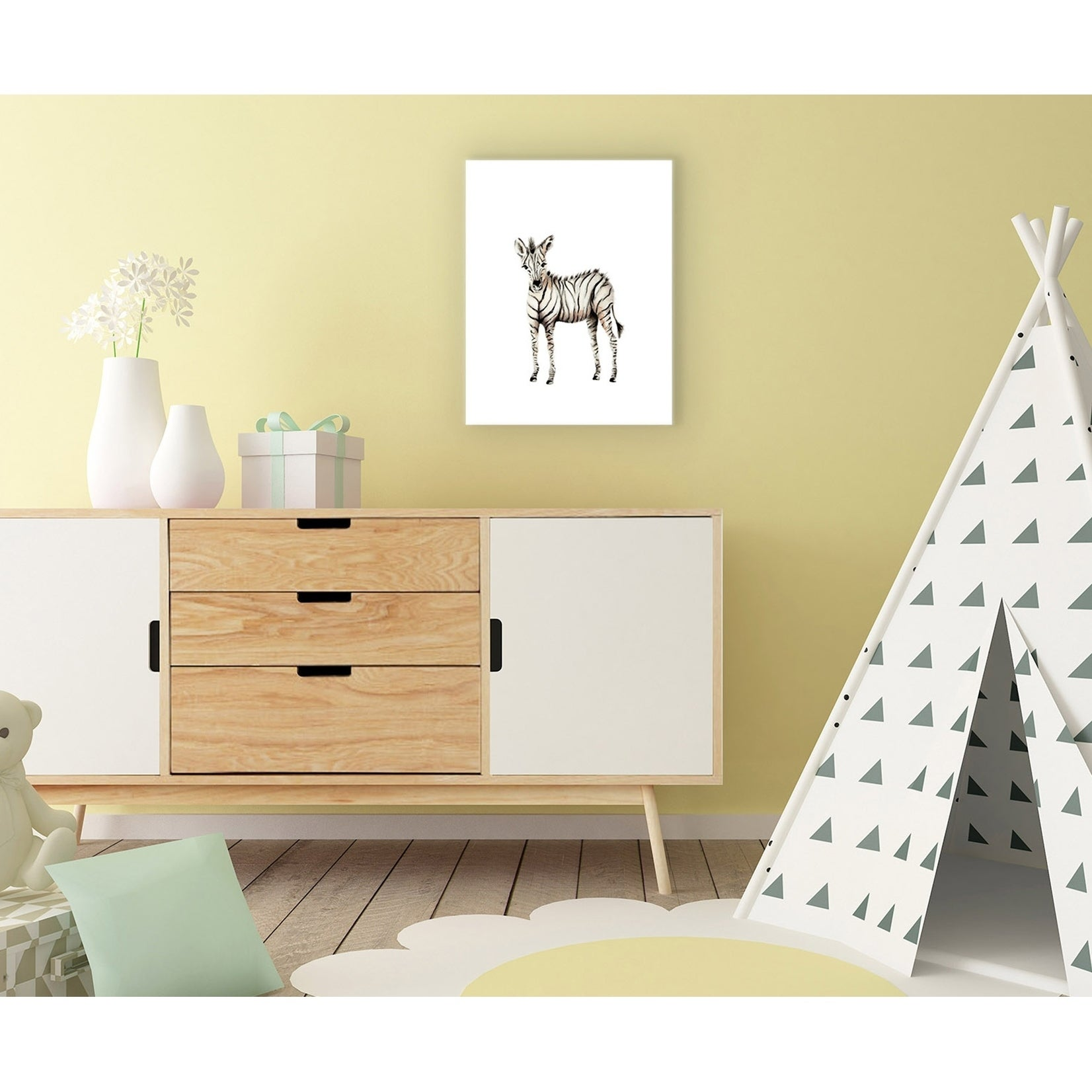 Pretty Pink Zebra Wall Decor Images - The Wall Art Decorations ...