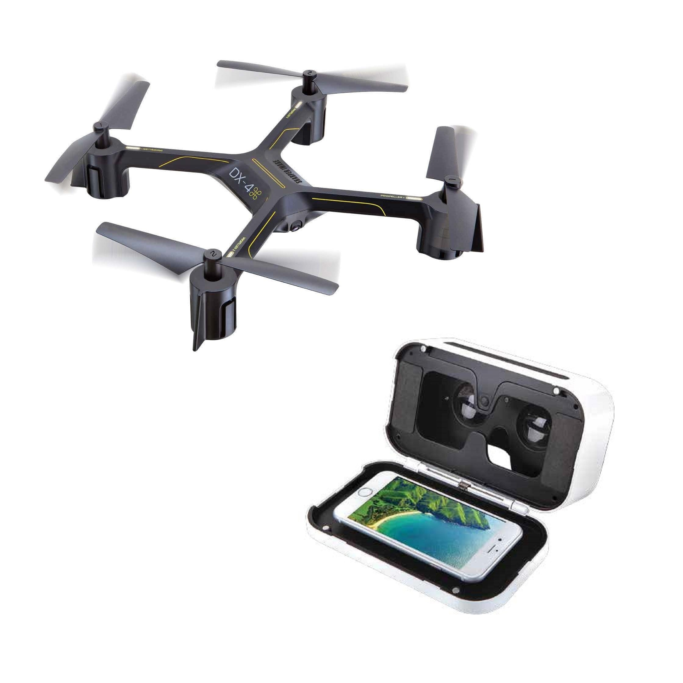 Shop Sharper Image Dx 4 Hd Video Fpv Streaming Drone On Sale