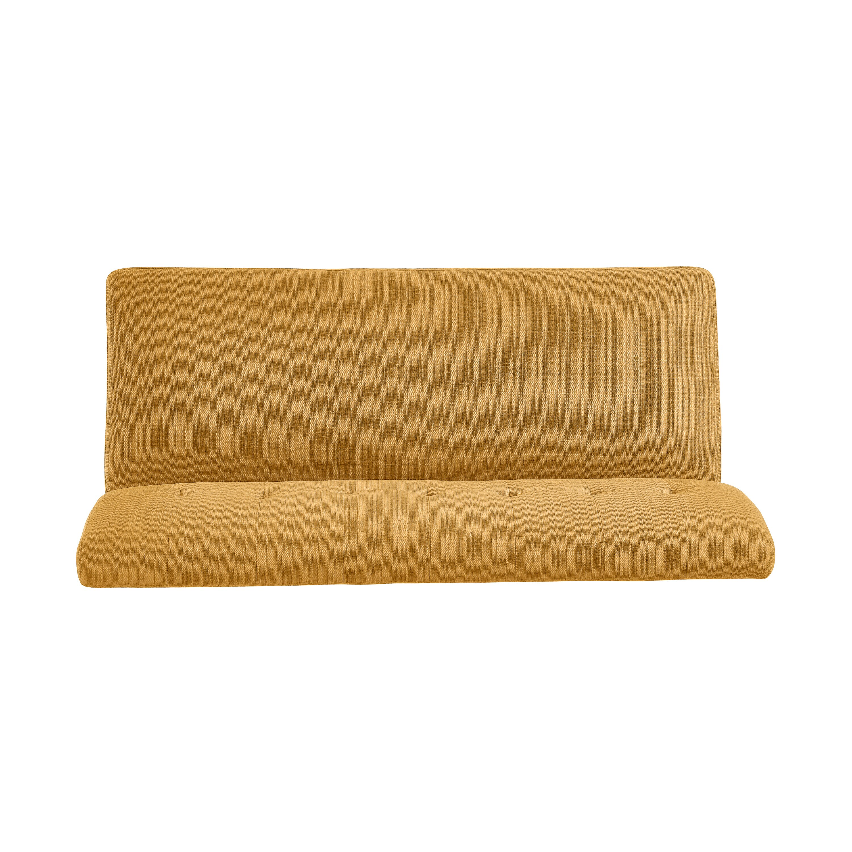 Attractive Handy Living Kingston Mid Century Modern Mustard Yellow Linen  BA52