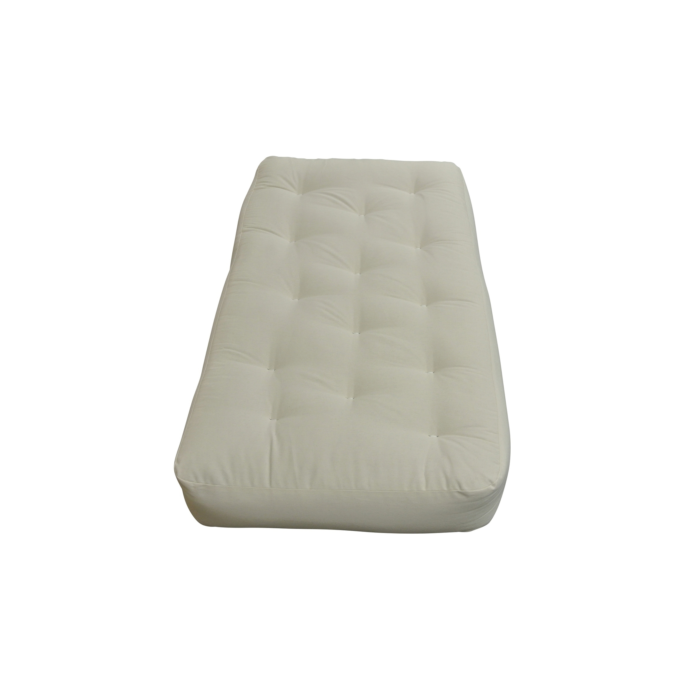 6 All Cotton Chair Natural Futon Mattress Free Shipping Today Com 17742835