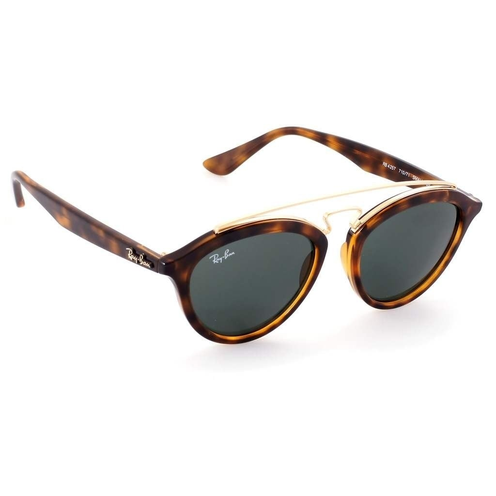 86cbafb2a8b Shop Ray-Ban Women s RB4257 Gatsby II Tortoise Gold Frame Green Classic  50mm Lens Sunglasses - Free Shipping Today - Overstock - 17754289