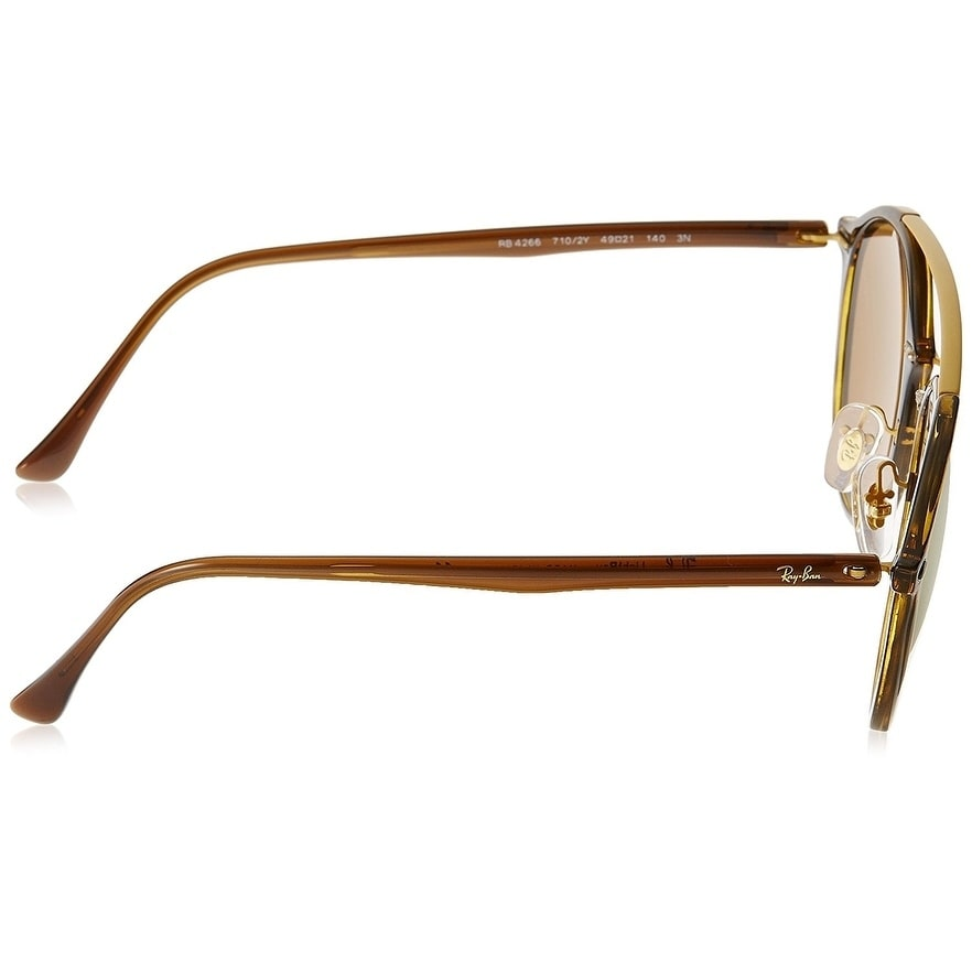 aafa75f1962 Shop Ray-Ban Men s RB4266 Tortoise Brown Frame Copper Mirror 49mm Lens  Sunglasses - Free Shipping Today - Overstock - 17754342