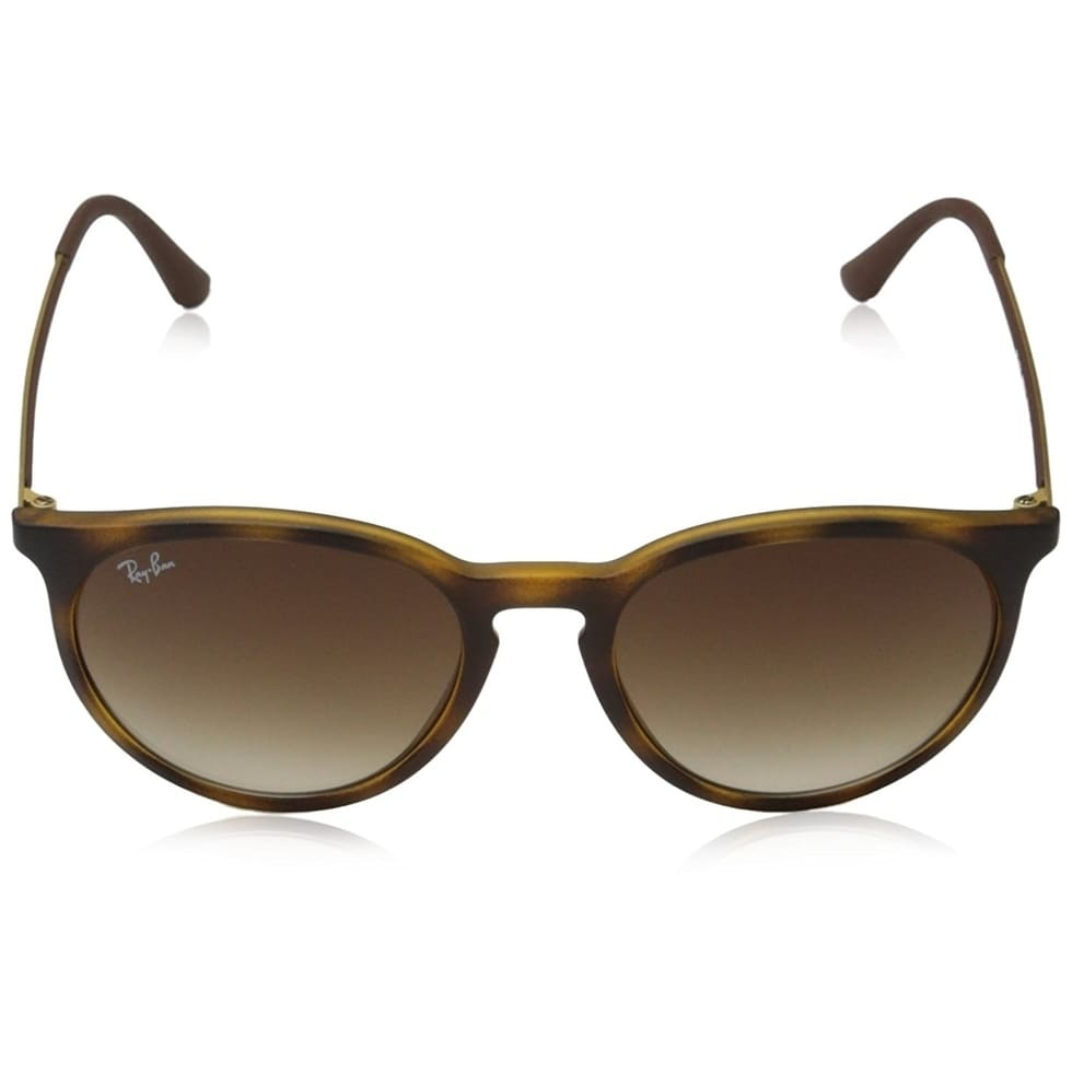 7b7b2b8d30 Shop Ray-Ban Erika RB4274 Tortoise Gold Frame Brown Gradient 53mm Lens  Sunglasses - Free Shipping Today - Overstock - 17754344
