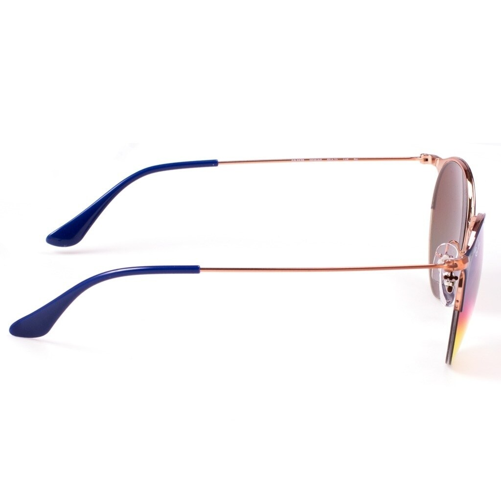 1dccf192553 Shop Ray-Ban Unisex RB3578 Blue Bronze-Copper Frame Orange Gradient Mirror  50mm Lens Sunglasses - Ships To Canada - Overstock.ca - 17754392