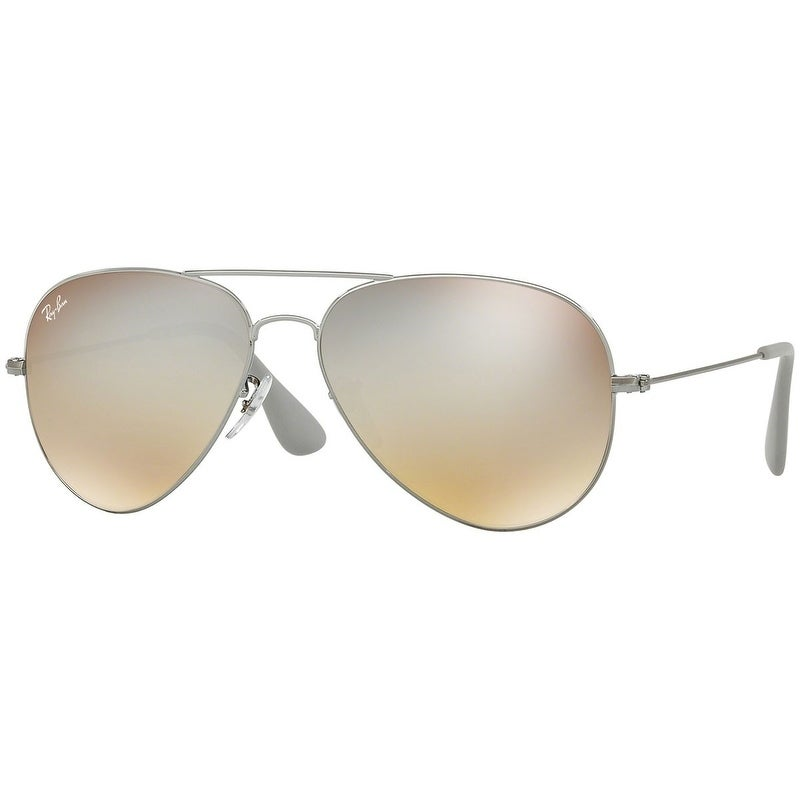 aae557e072 Shop Ray-Ban Unisex RB3558 Gunmetal Frame Silver Gradient Flash 58mm Lens  Sunglasses - Free Shipping Today - Overstock - 17754402