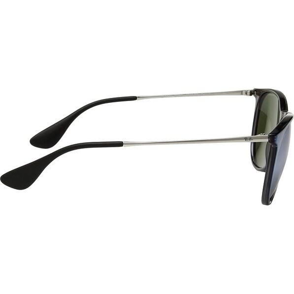 9cc4e982611 ... purchase shop ray ban unisex rb4171 erika color mix grey silver frame  silver mirror 54mm lens ...