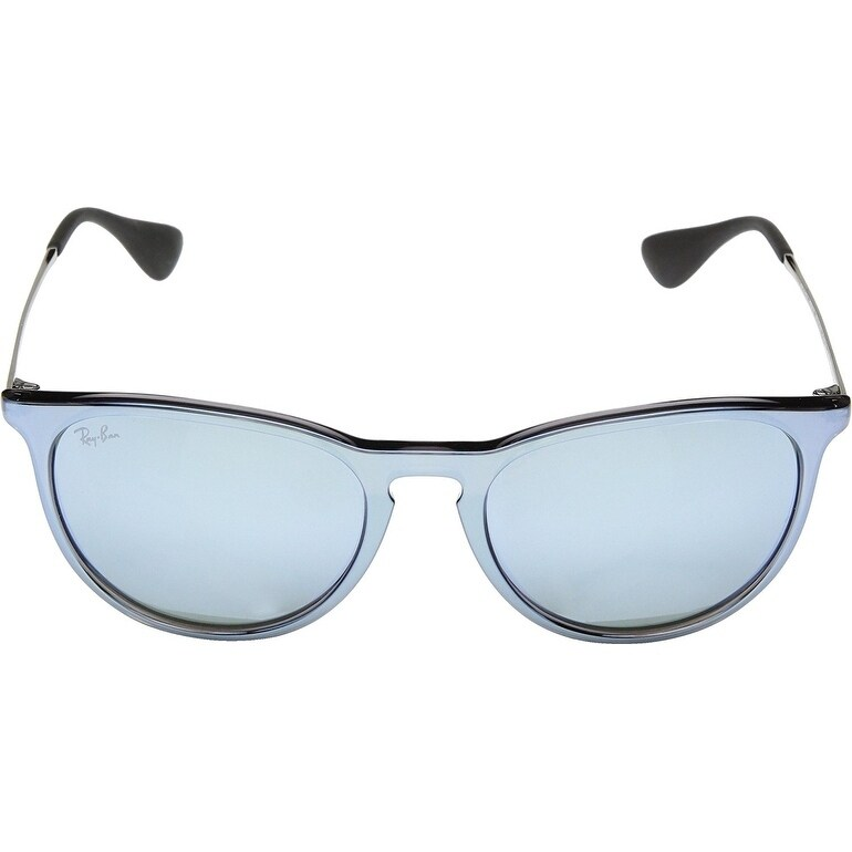 9472aa6ce1 Shop Ray-Ban Unisex RB4171 Erika Color Mix Grey Silver Frame Silver Mirror  54mm Lens Sunglasses - Free Shipping Today - Overstock - 17754454
