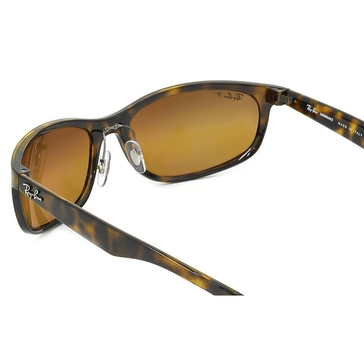 712f9033c4 Shop Ray-Ban Men s RB4265 Tortoise Frame Polarized Brown Mirror Chromance  62mm Lens Sunglasses - Free Shipping Today - Overstock - 17754476