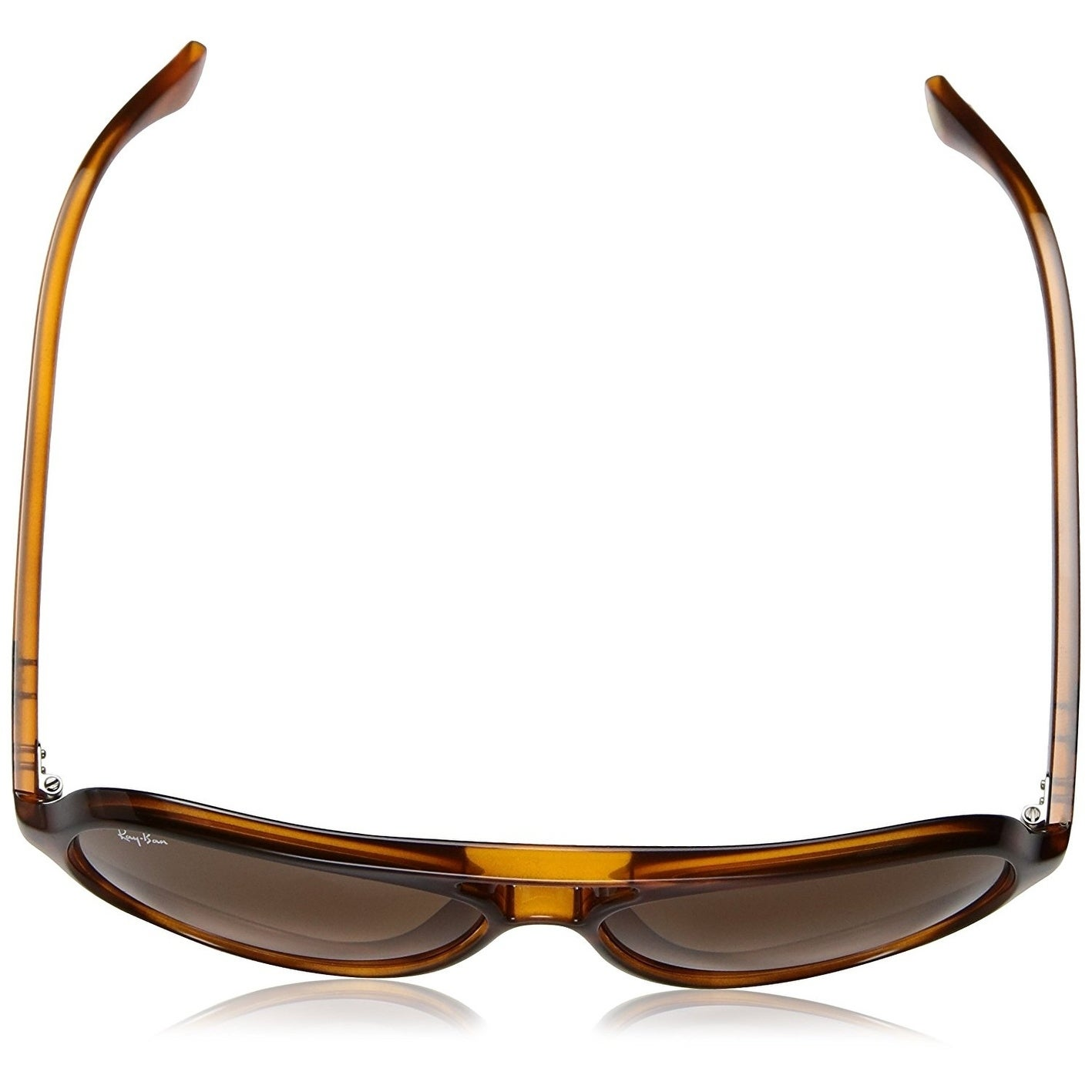 76e387b1dd1677 ... promo code for shop ray ban unisex rb4125 cats 5000 classic tortoise  frame pink brown gradient ...