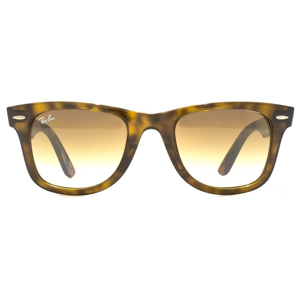 fbf5c0c2c9 Shop RayBan Unisex RB4340 Wayfarer Ease Tortoise Frame Light Brown Gradient  50mm Lens Sunglasses - Free Shipping Today - Overstock - 17754503