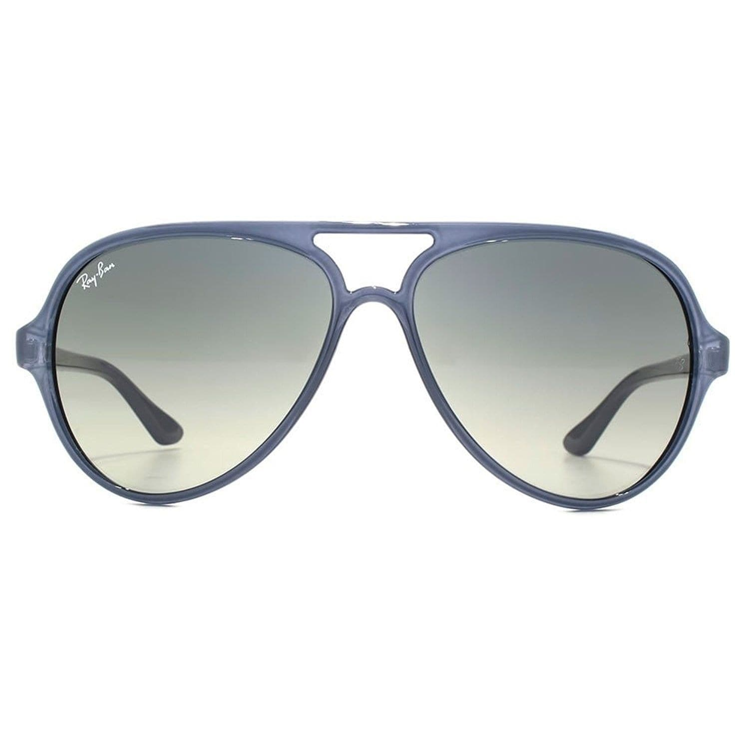 ... italy ray ban unisex rb4125 cats 5000 classic blue frame grey gradient  59mm lens sunglasses free ... b9038294323a