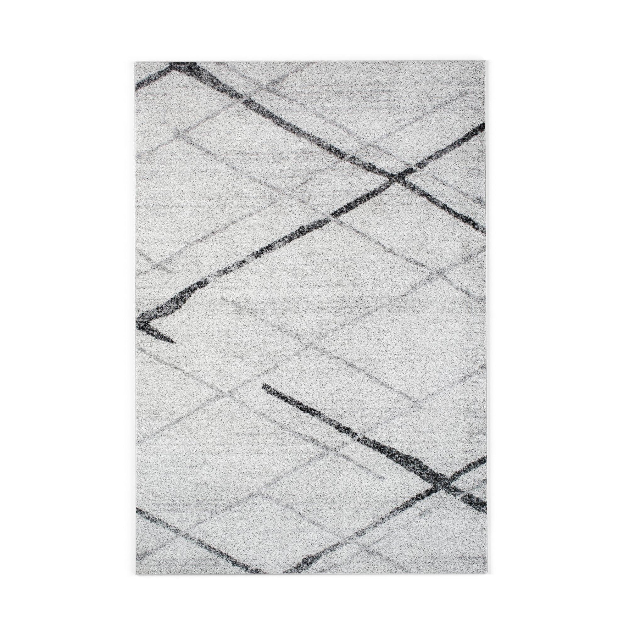 shop porch den iris trellis stripes grey rug on sale free rh overstock com