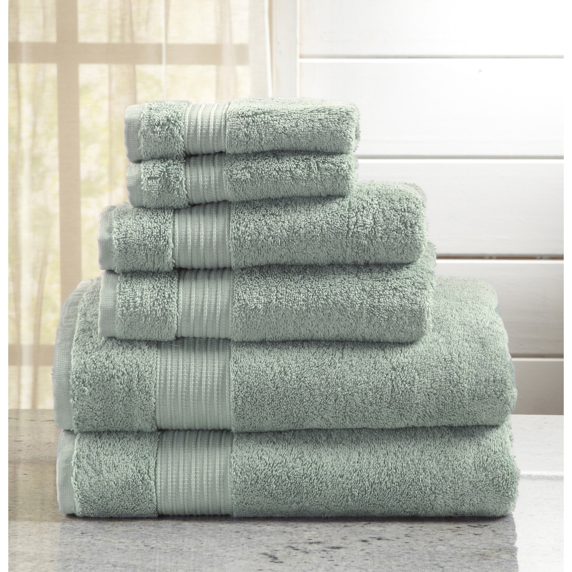 home fashion designs grace collection 6 piece luxury hotel spa 100 turkish cotton towel set on sale free shipping today overstockcom 23965441 - Home Designs Grace Collection