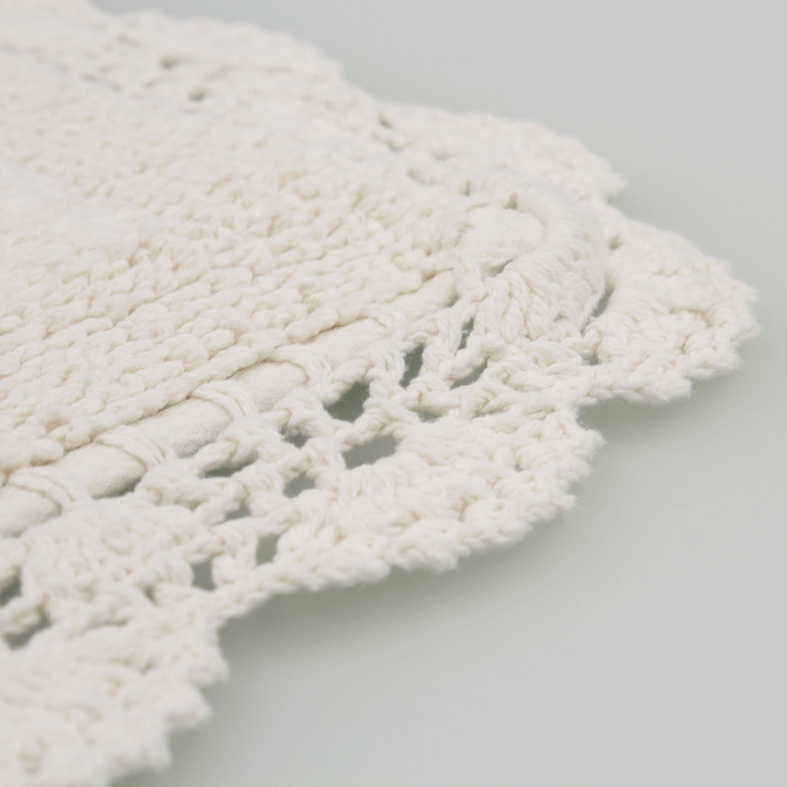 Laura Ashley Reversible Cotton Crochet 2 Piece Bath Rug Set Free Shipping On Orders Over 45 17769754