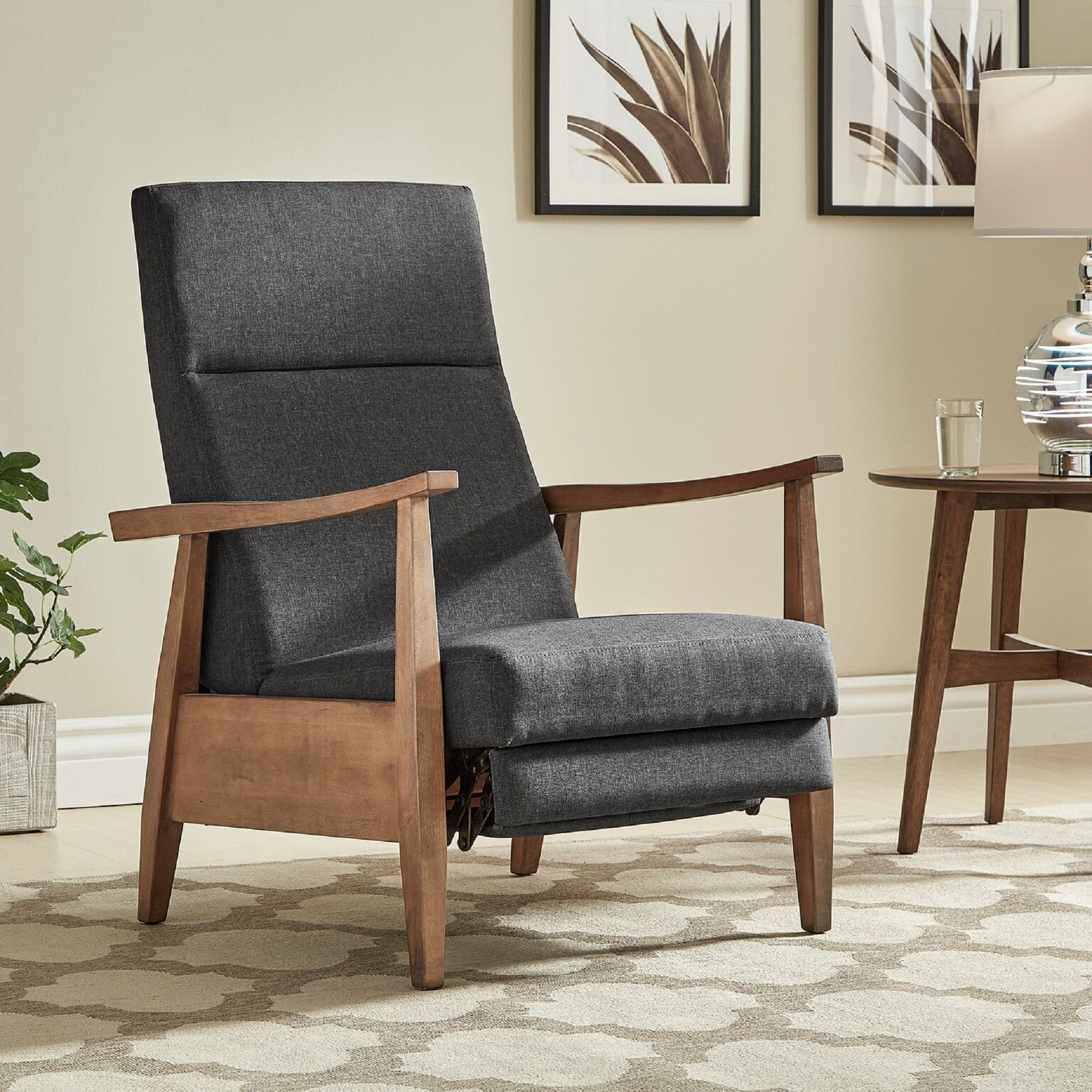 ottoman veneer java furniture affordable lounge distressed lifestyle and chair htm npd recliner pu grayson arm stylish bent al walnut frame