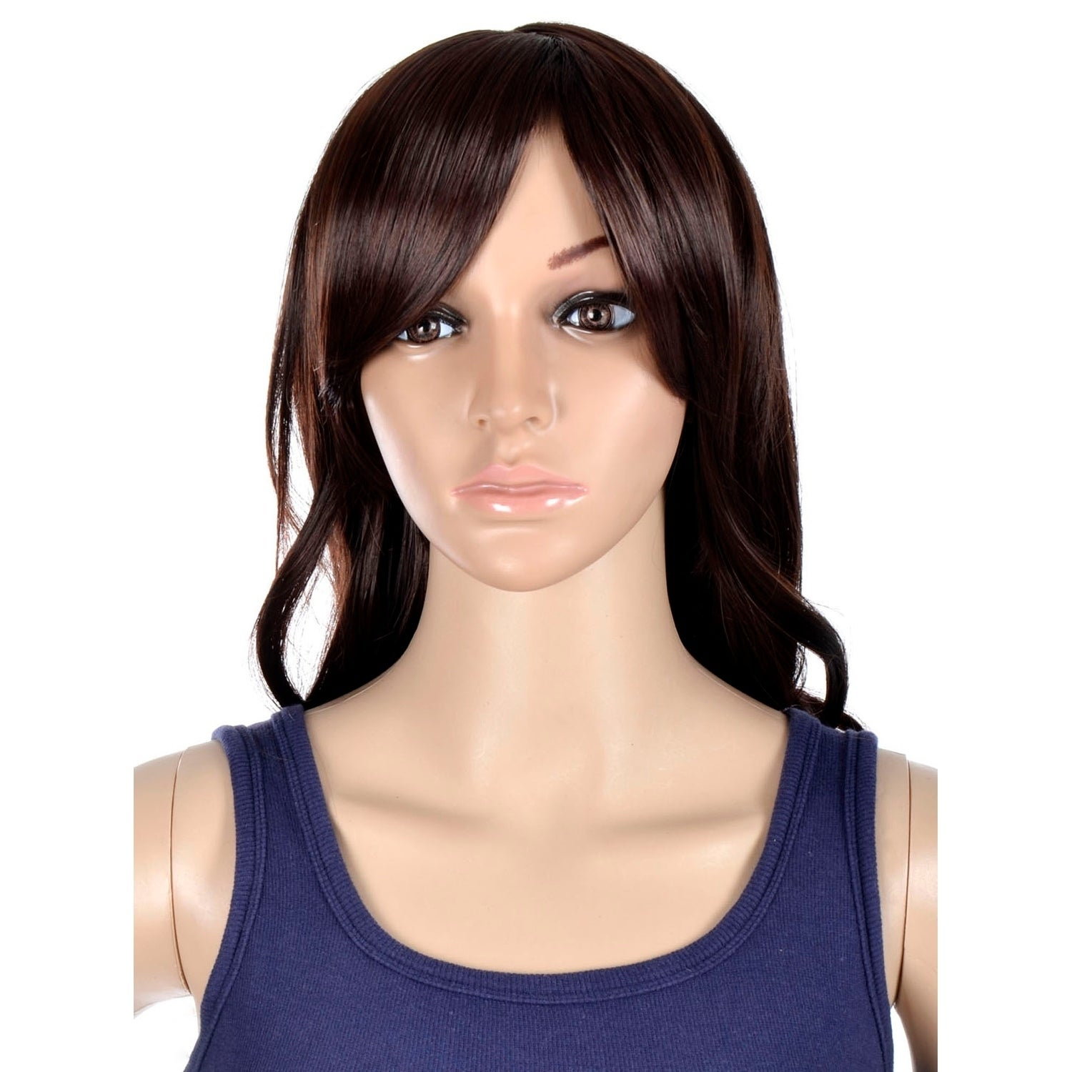 Shop Simplicity Women s Daily Wear and Costume Wig - Long Curly Brown 75 -  Free Shipping On Orders Over  45 - Overstock.com - 17779650 9272e1b8ee4d