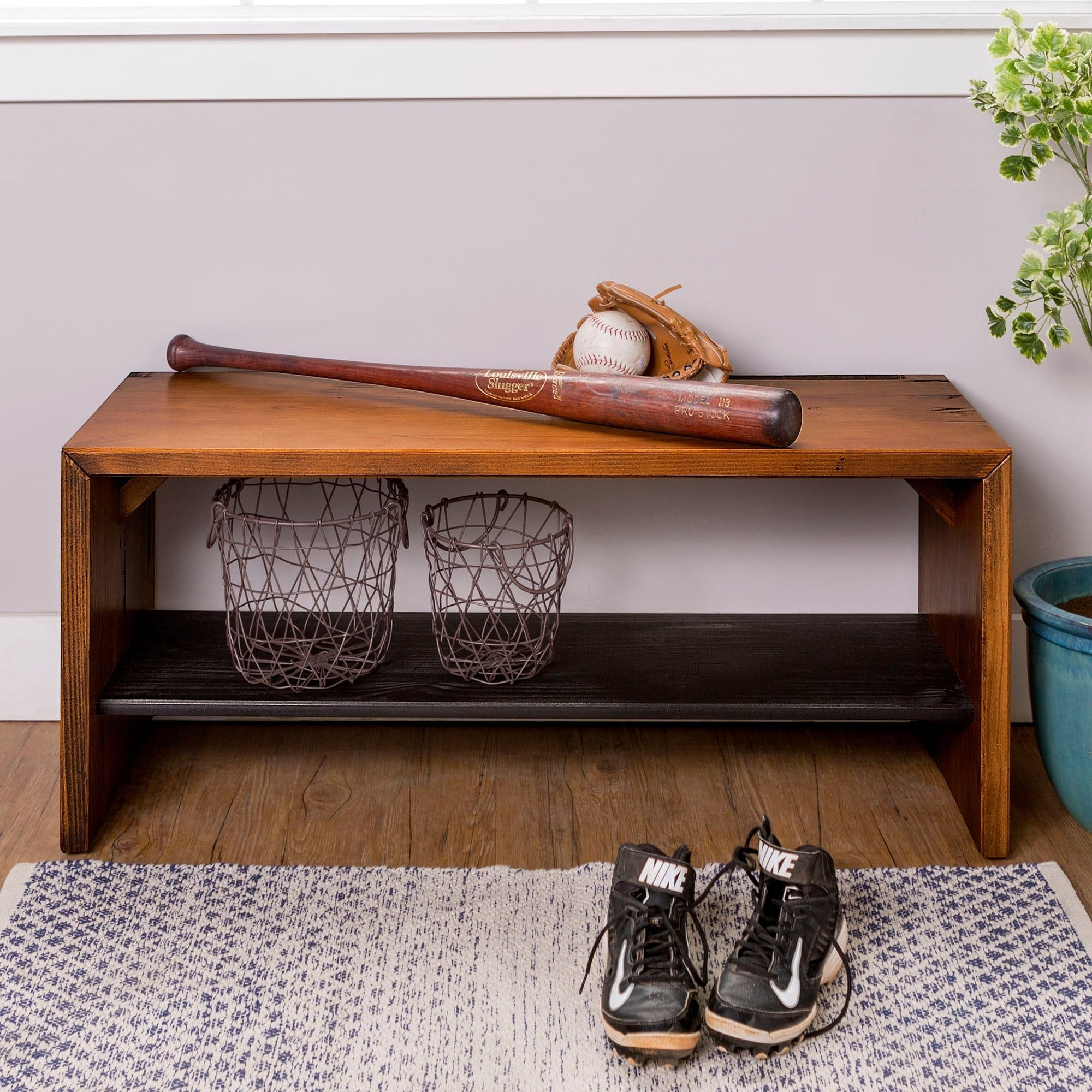 farmhouse pdx storage reviews wayfair bench laurel furniture entry modern foundry ermont