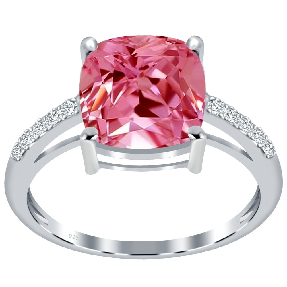 Orchid Jewelry 925 Sterling Silver Birthstone & White Topaz Silver ...