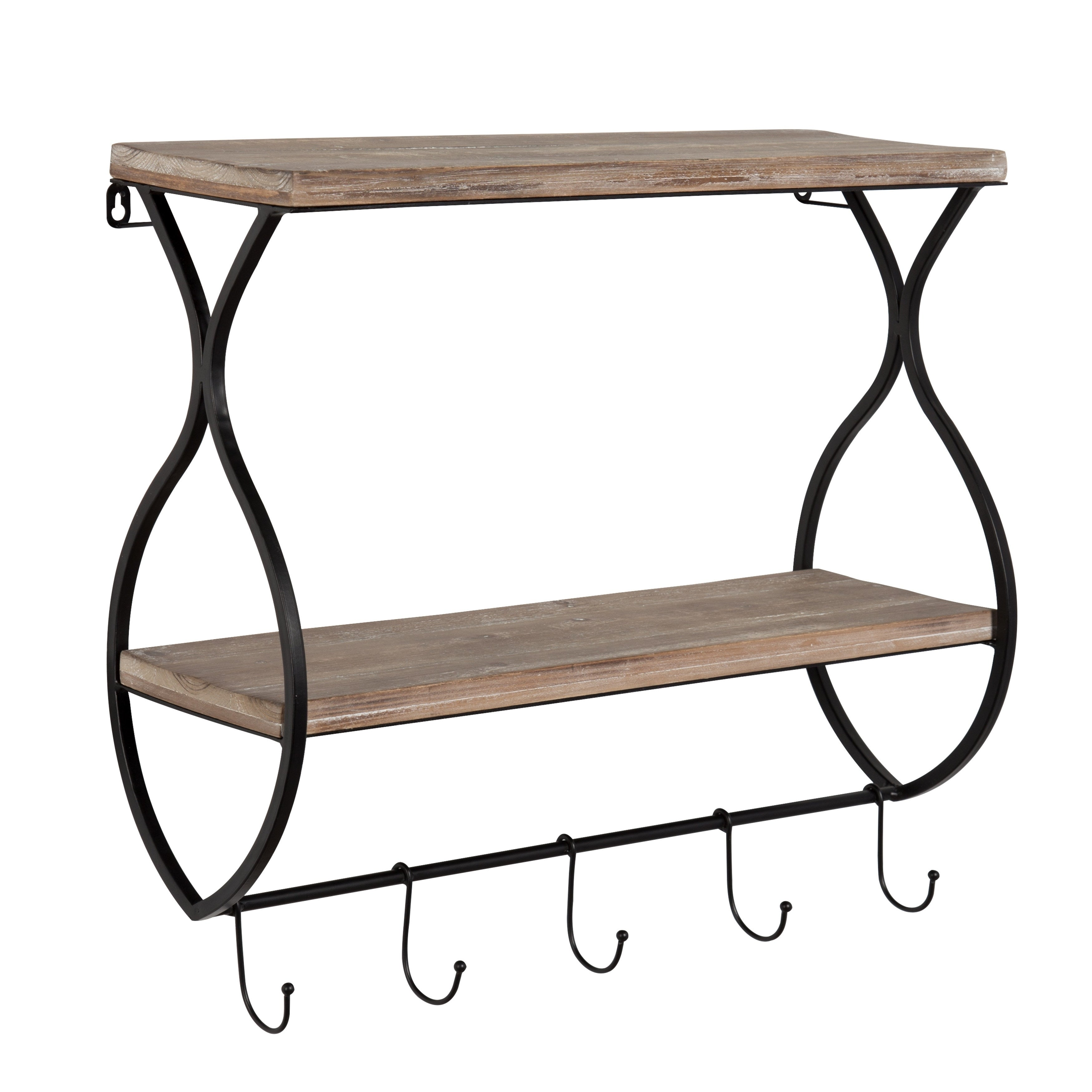 stunning with coat unique and mounted rack shelf baskets racks wall hooks