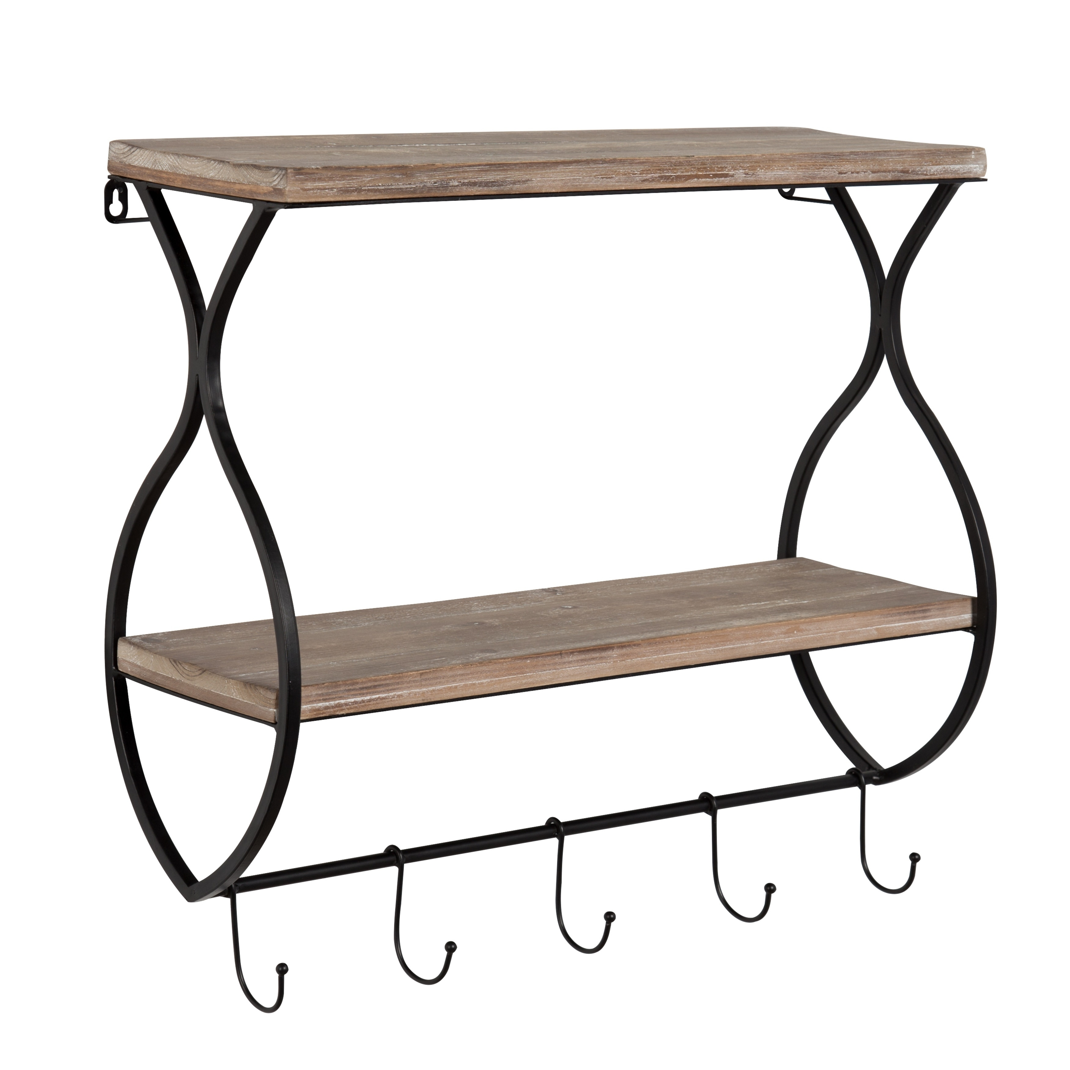cheap with hooks pin entryway living on shelf the it well