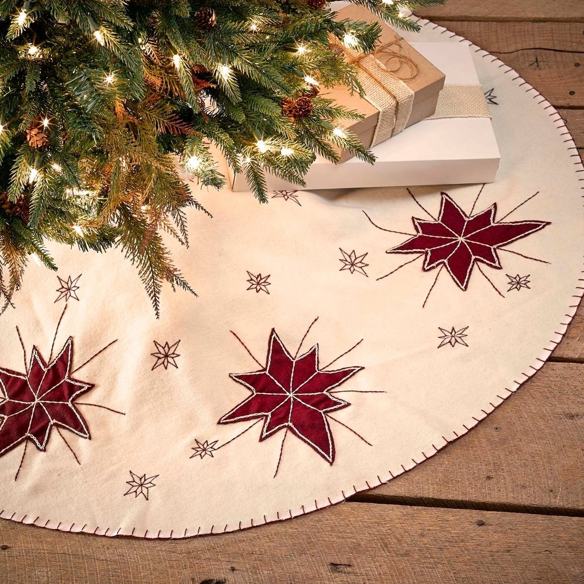 Shop North Star Tree Skirt - Free Shipping On Orders Over $45 ...