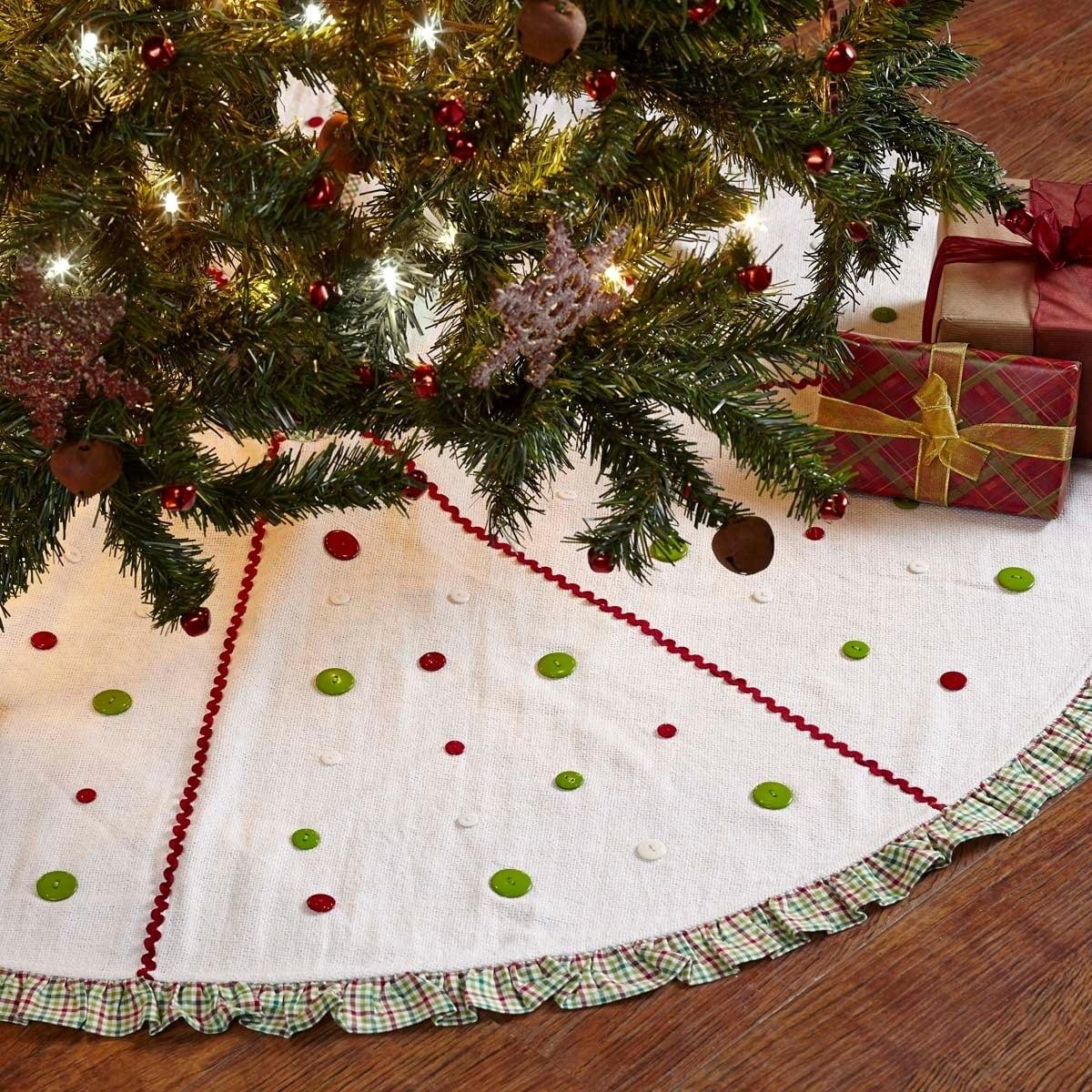 shop whimsical christmas tree skirt free shipping on orders over 45 overstockcom 17807425