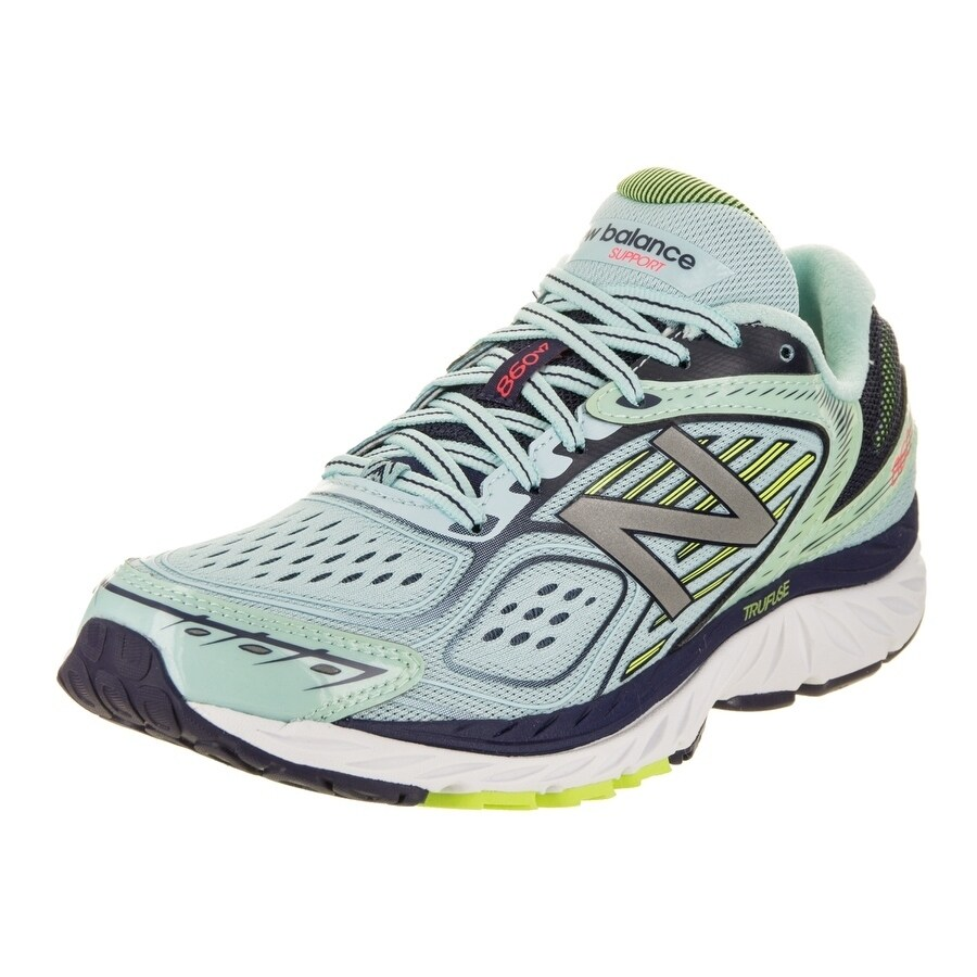 Shop New Balance Women s 860v7 Wide Running Shoe - Free Shipping Today -  Overstock.com - 17809230 d6ca2cfac9a