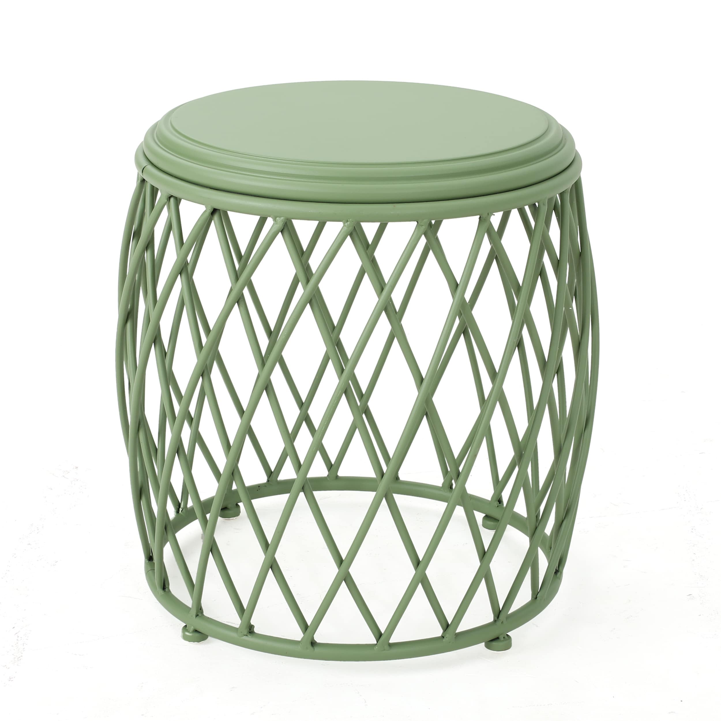 Shop Bryony 15 Inch Round Lattice Side Table By Christopher Knight Home    On Sale   Free Shipping Today   Overstock.com   17814061