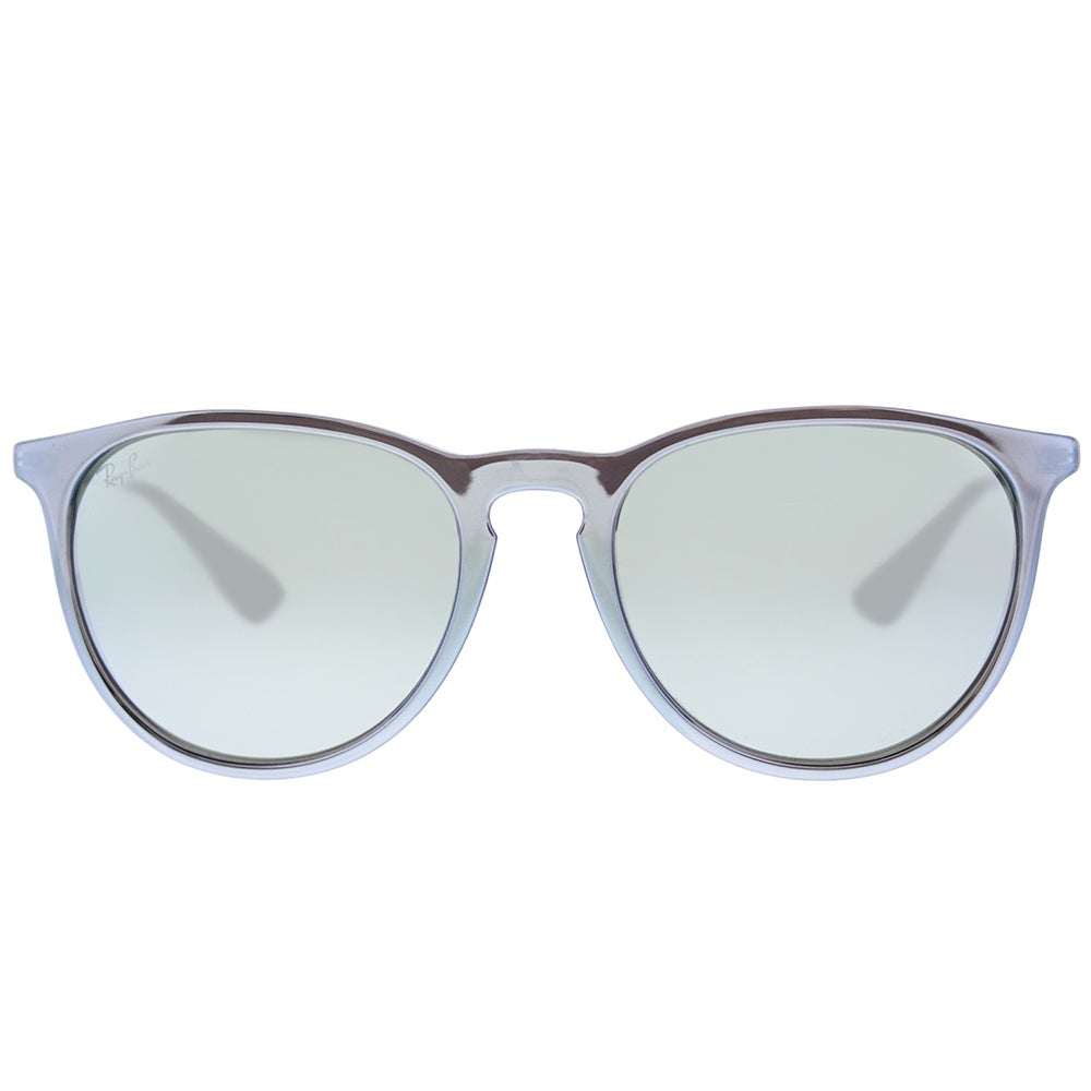 f2615f9fa27 Shop Ray-Ban Round RB 4171 631930 Unisex Grey Silver Frame Silver Mirror  Lens Sunglasses - On Sale - Ships To Canada - Overstock.ca - 17817212