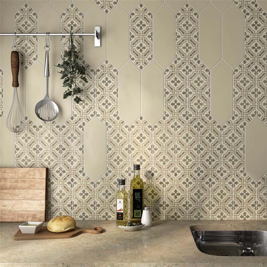 Somertile 4x1175 inch cometa century beige porcelain floor and wall somertile 4x1175 inch cometa century beige porcelain floor and wall tile 40 tiles1181 sqft free shipping today overstock 24009682 dailygadgetfo Gallery